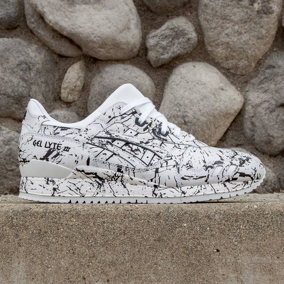 sports shoes 8a81b 6dfb5 Asics Tiger Men Gel-Lyte III - Marble Pack (white / white)
