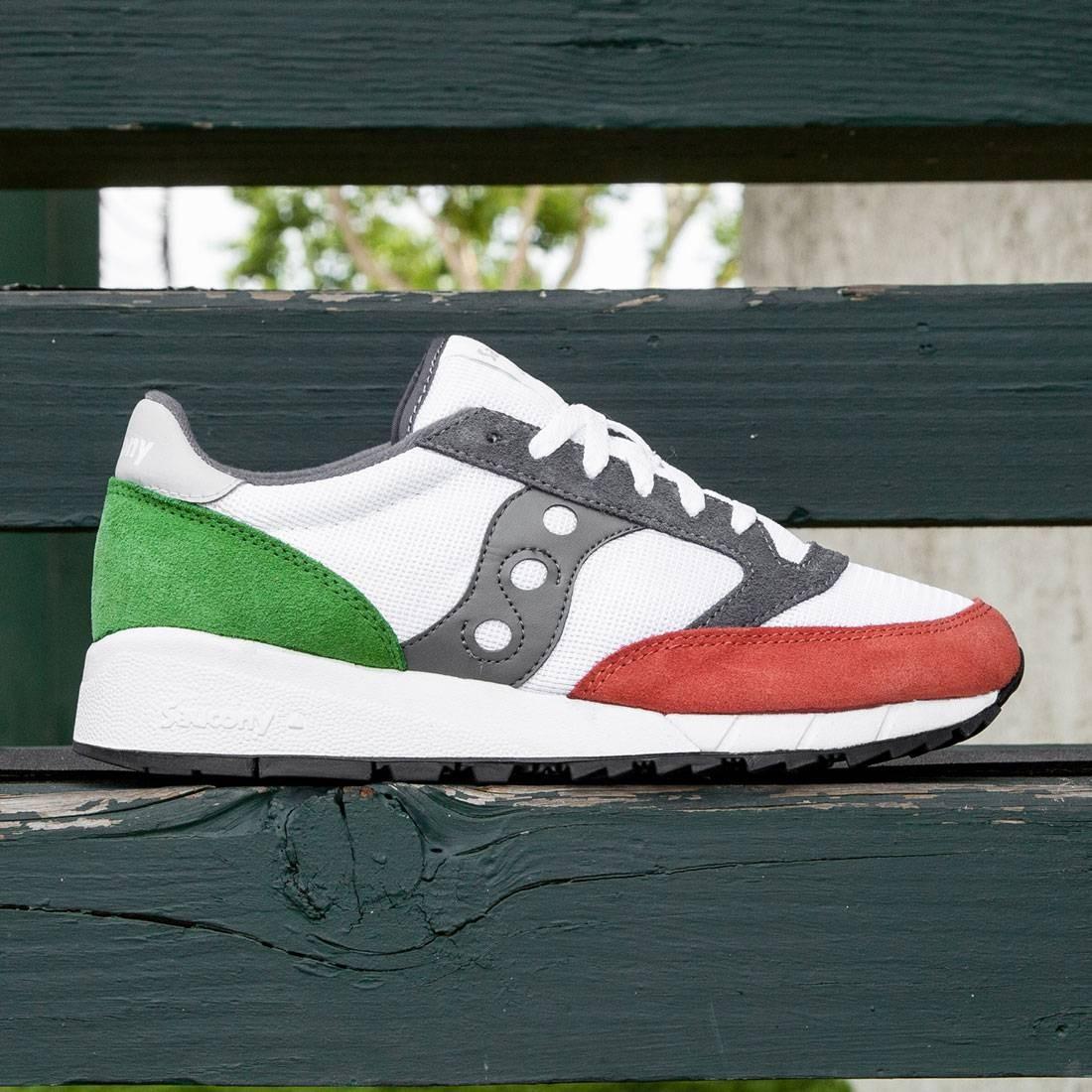 Saucony Men Jazz 91 (white red green)