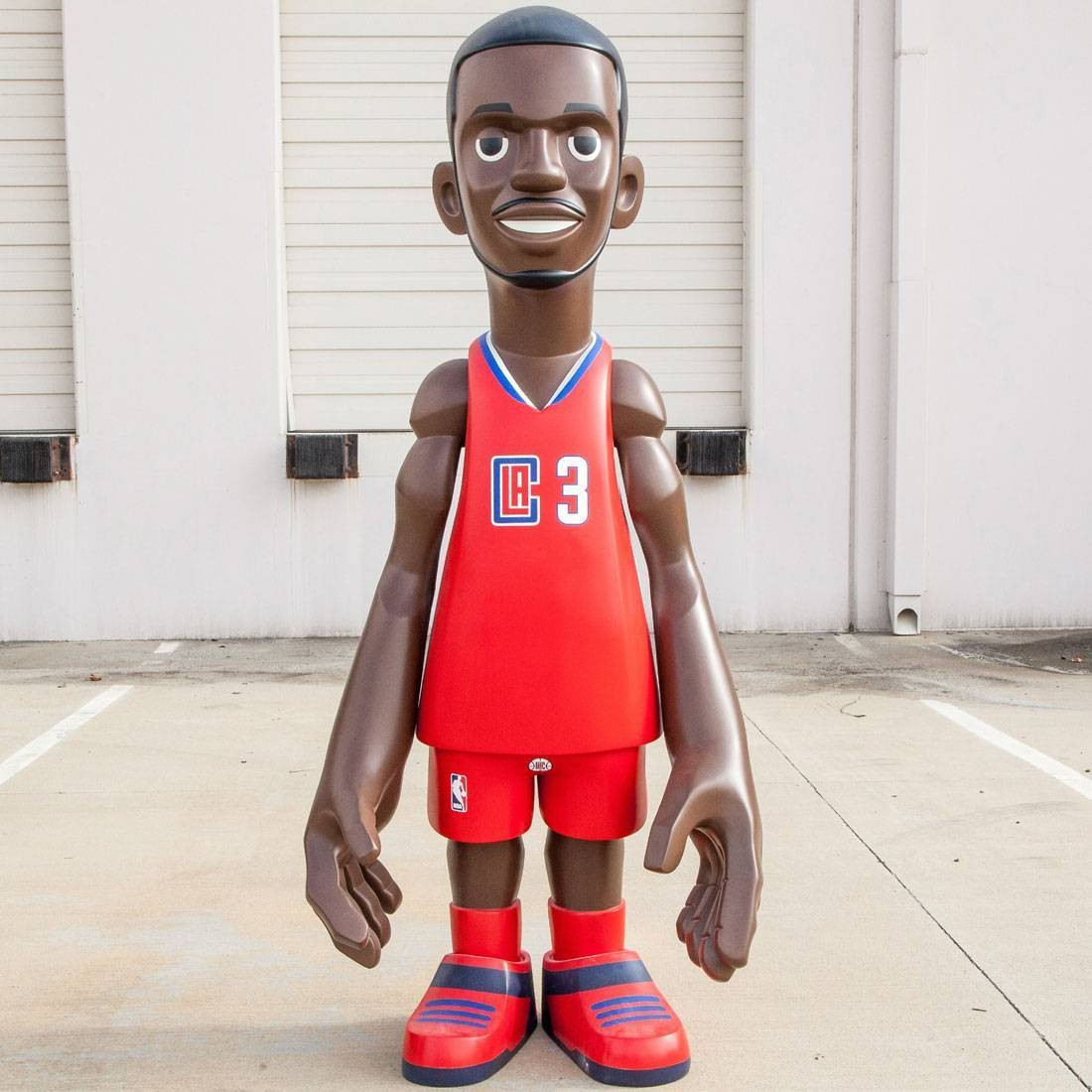 MINDstyle x NBA Los Angeles Clippers Chris Paul 7 Foot Statue (red)