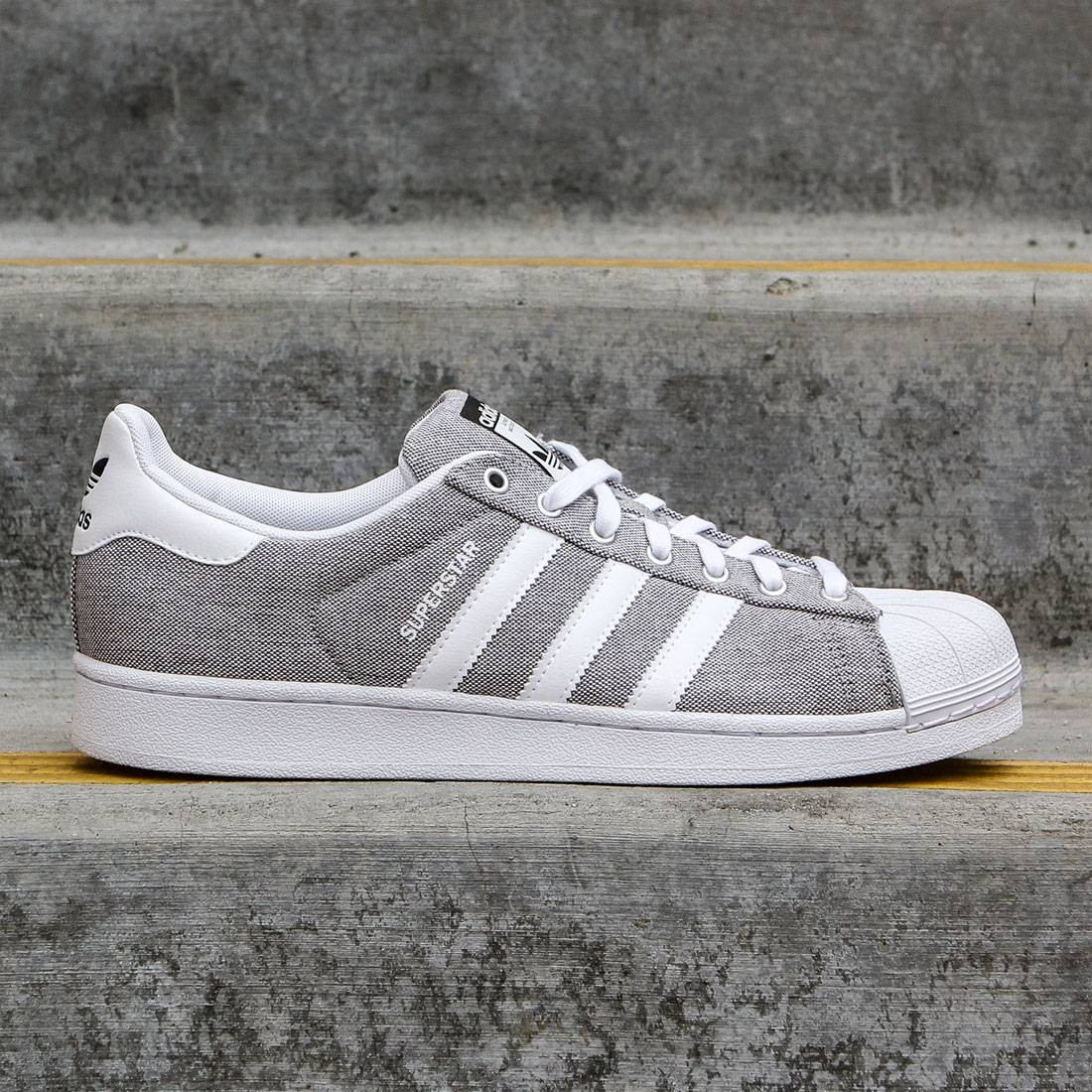 5514be0b9a8e Adidas Men Superstar gray charcoal solid grey footwear white