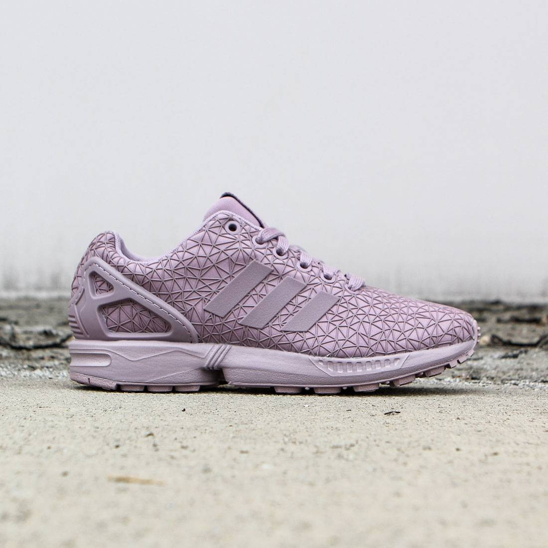 Adidas Women ZX Flux (purple blast purple)