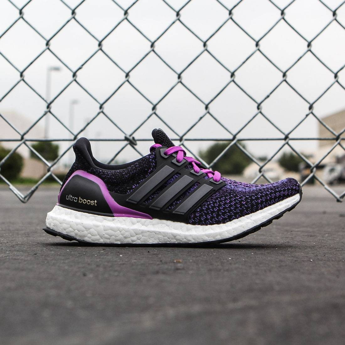 Adidas Women Ultra Boost black core black shock purple b9fefc4fe0
