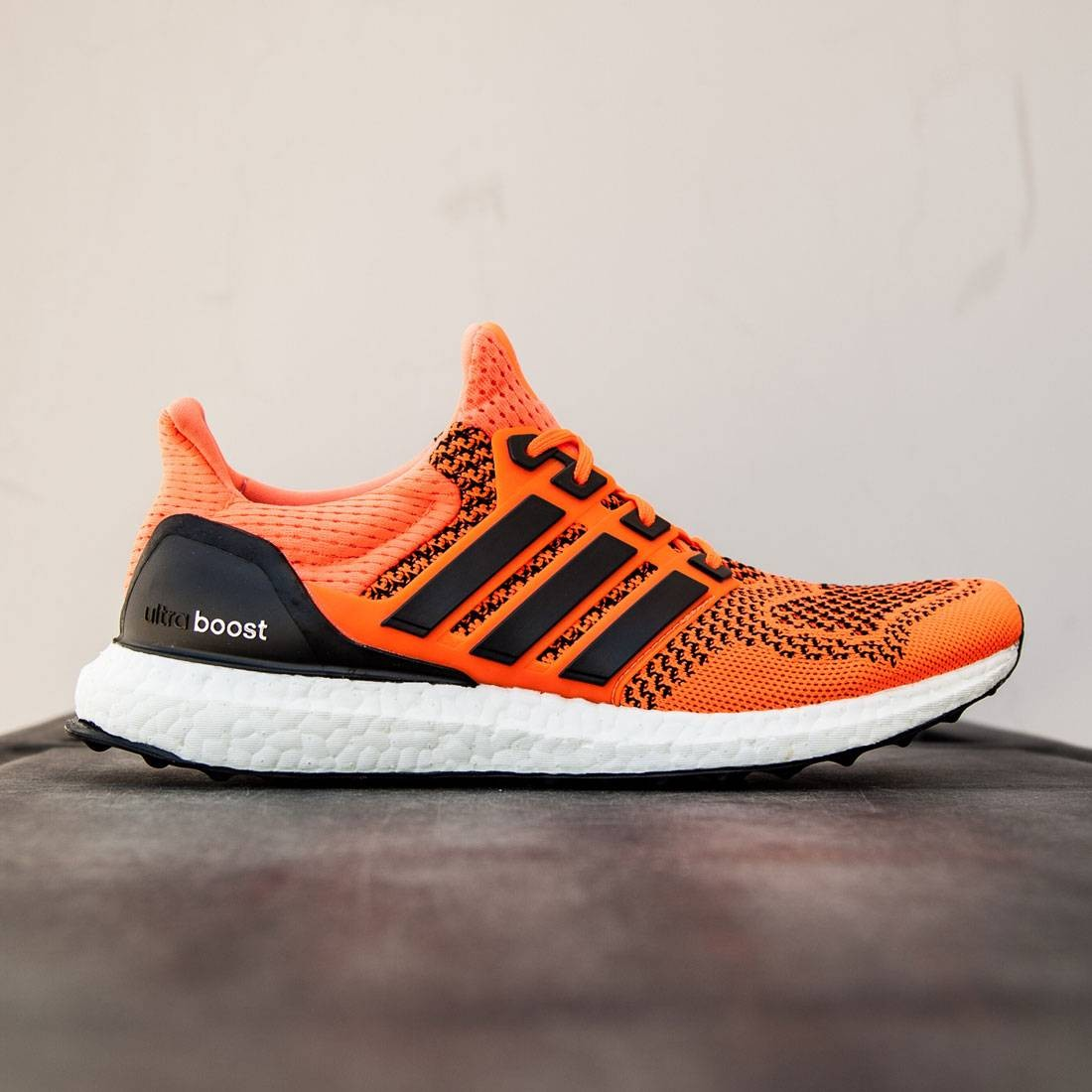 7f98b6219 Adidas Men Ultra Boost orange solar orange core black solar yellow