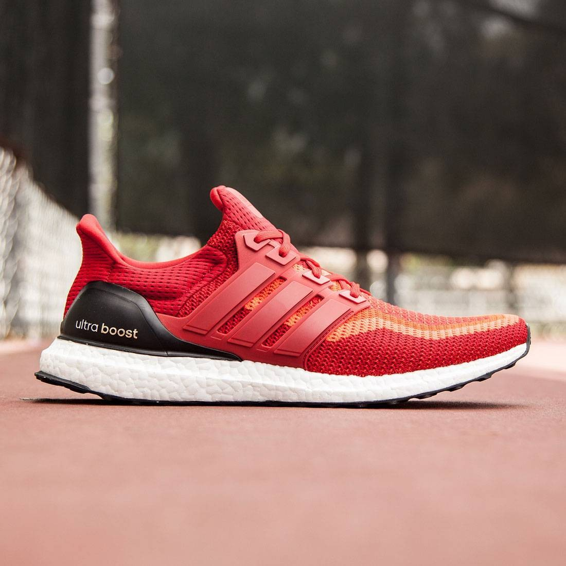 best sneakers d5aad c6e80 Adidas Men Ultra Boost red solar red power red core black