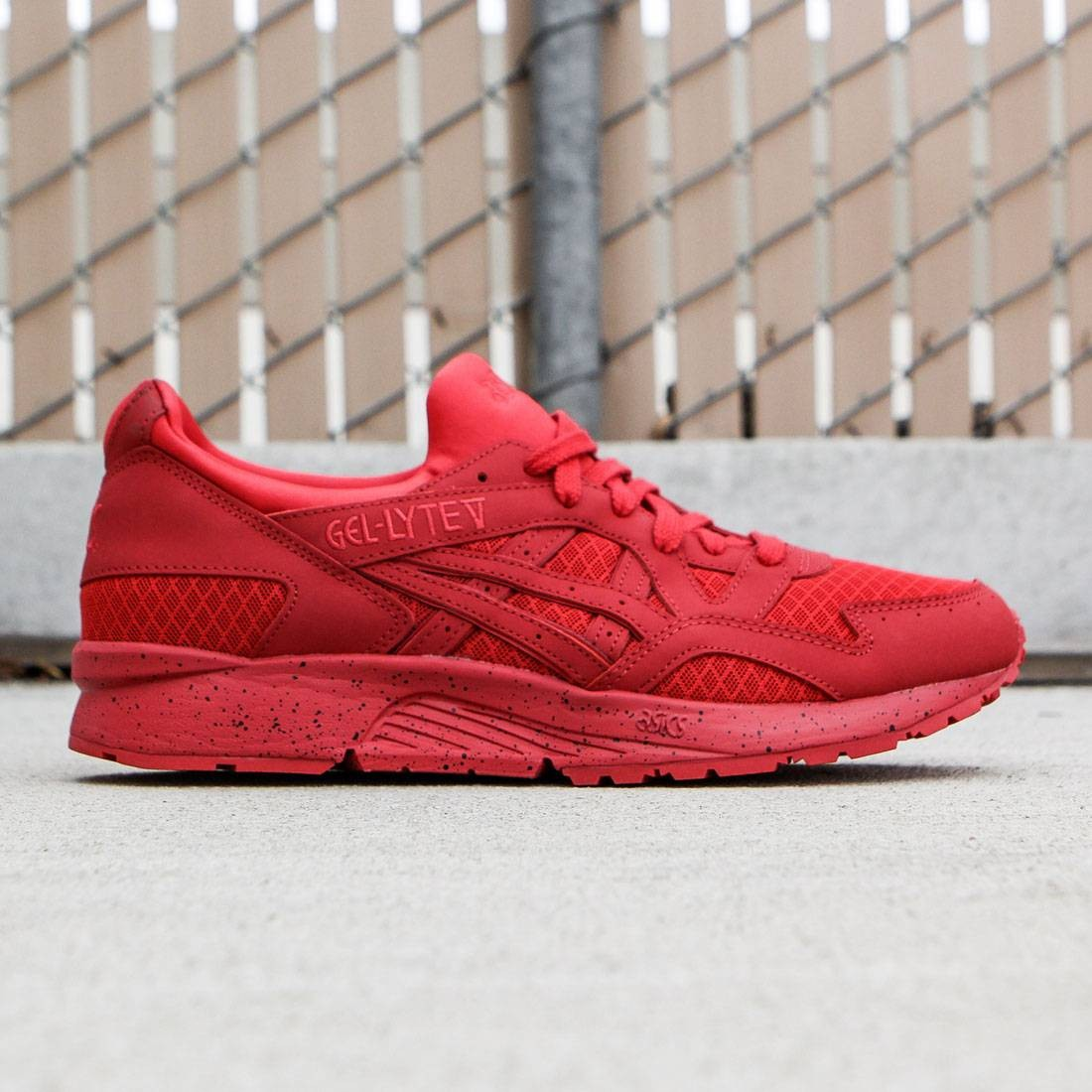 huge discount 1a824 43fa9 Asics Tiger Men Gel-Lyte V - Mono Pack (red)