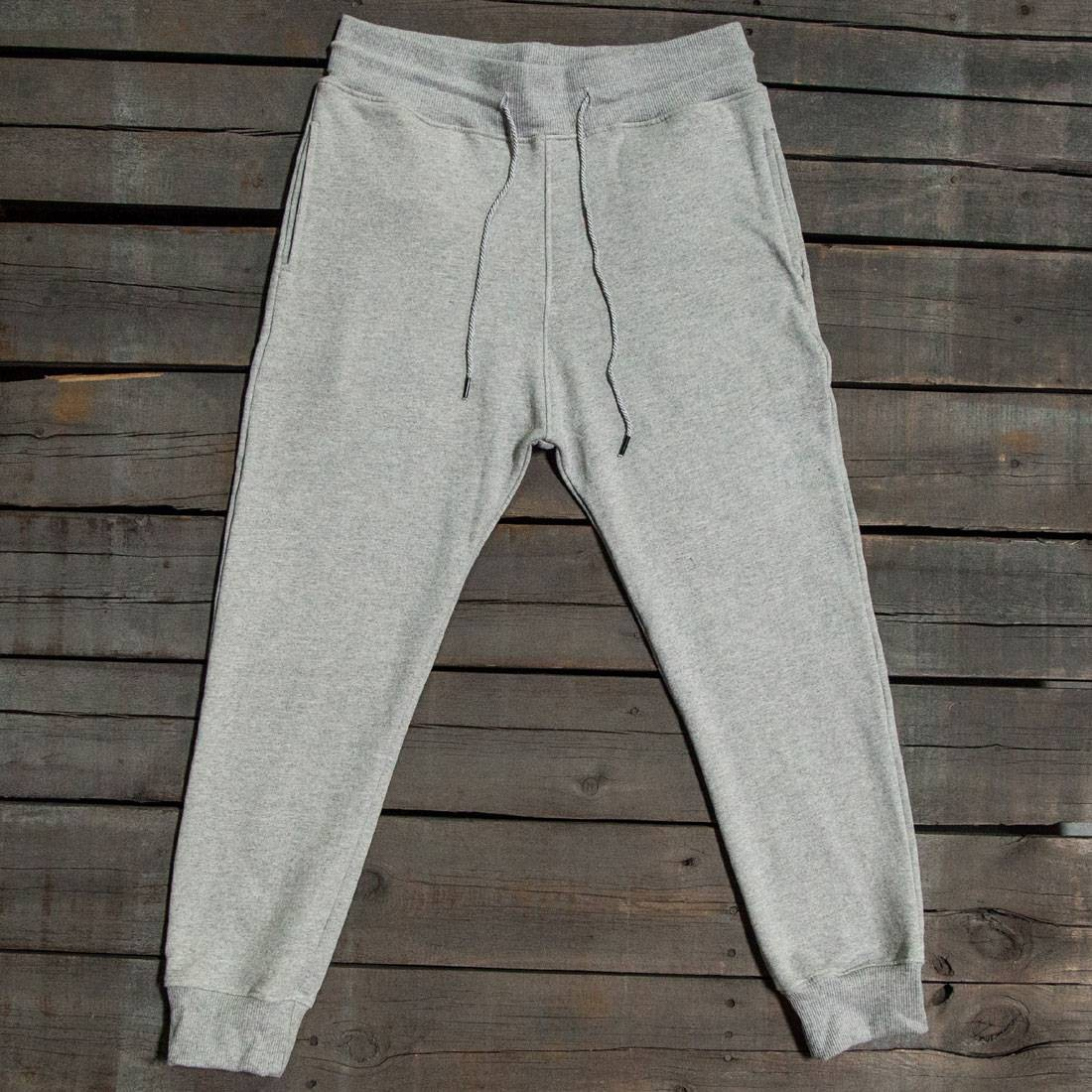 BAIT Men Premium Sweatpants - Made In Los Angeles (gray / heather)