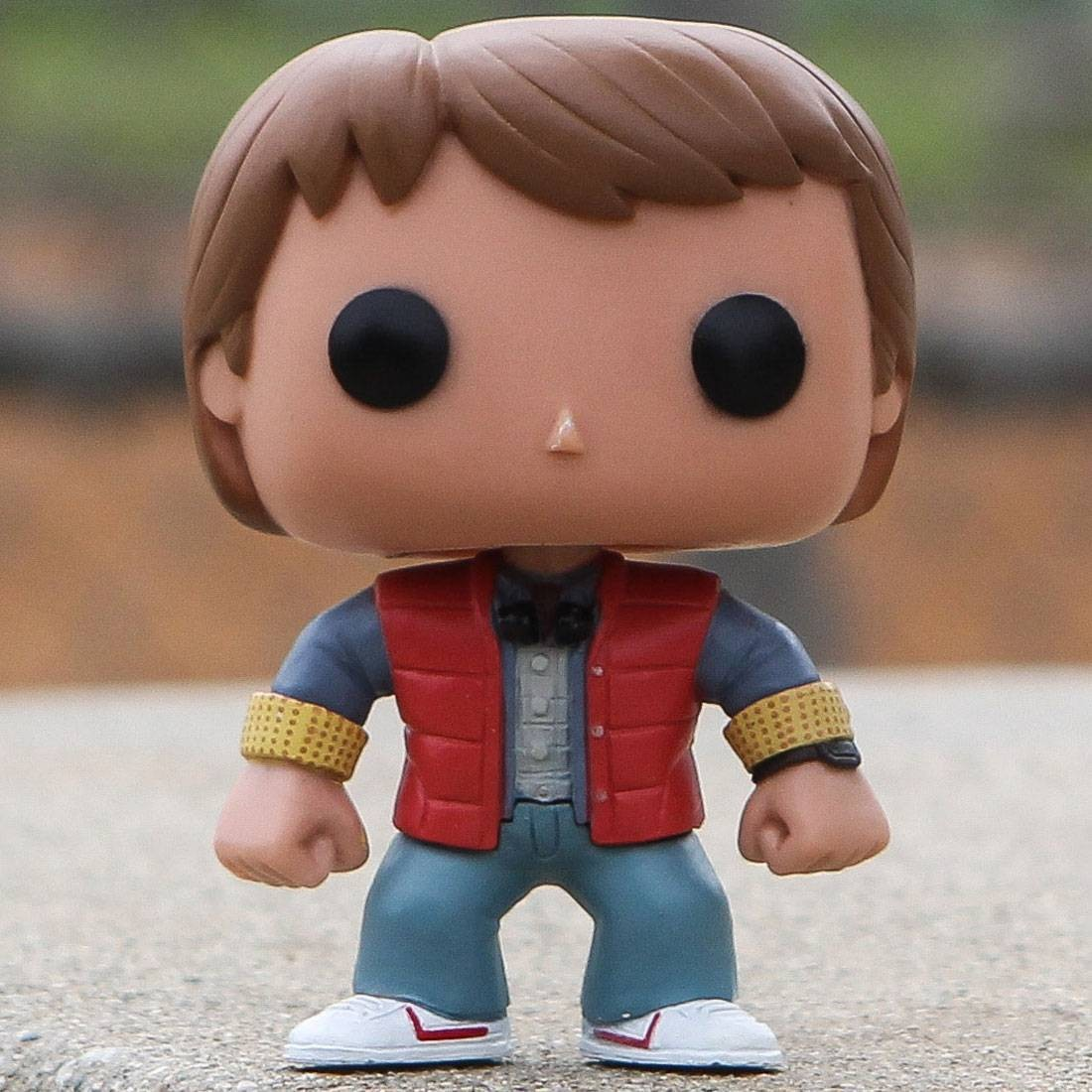 Funko POP Movies Back To The Future - Marty McFly (orange)
