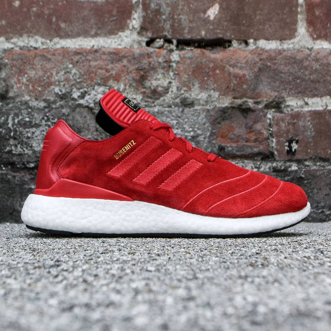 a6a6f8fd962 Adidas Men Busenitz Pure Boost red scarlet white