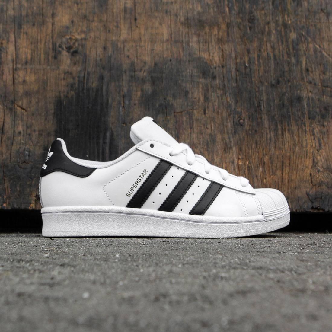 Adidas Big Kids Superstar (white / core black / running white ftw)