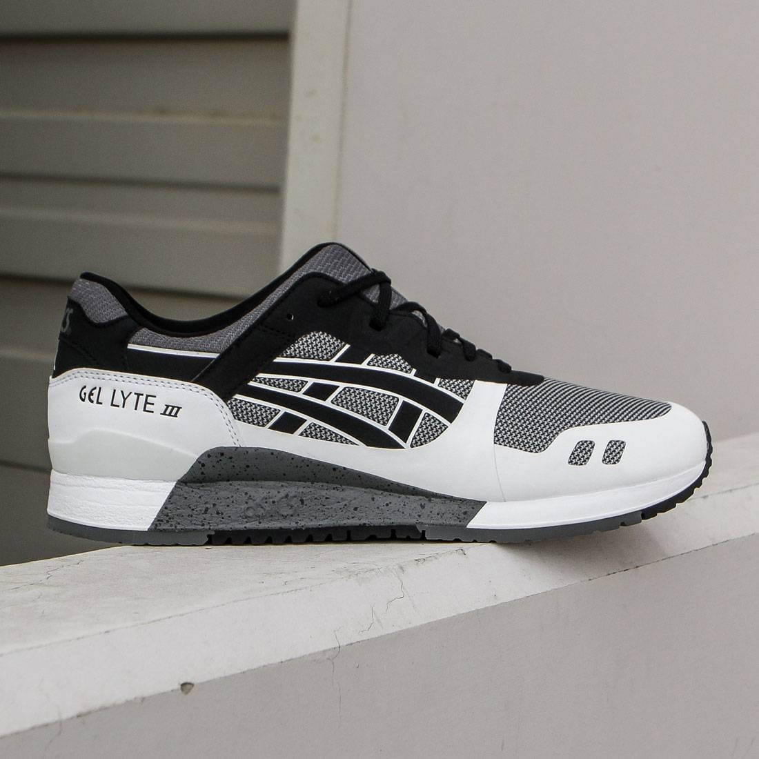 8cbfc4d3da43 Asics Tiger Men Gel-Lyte III NS grey black