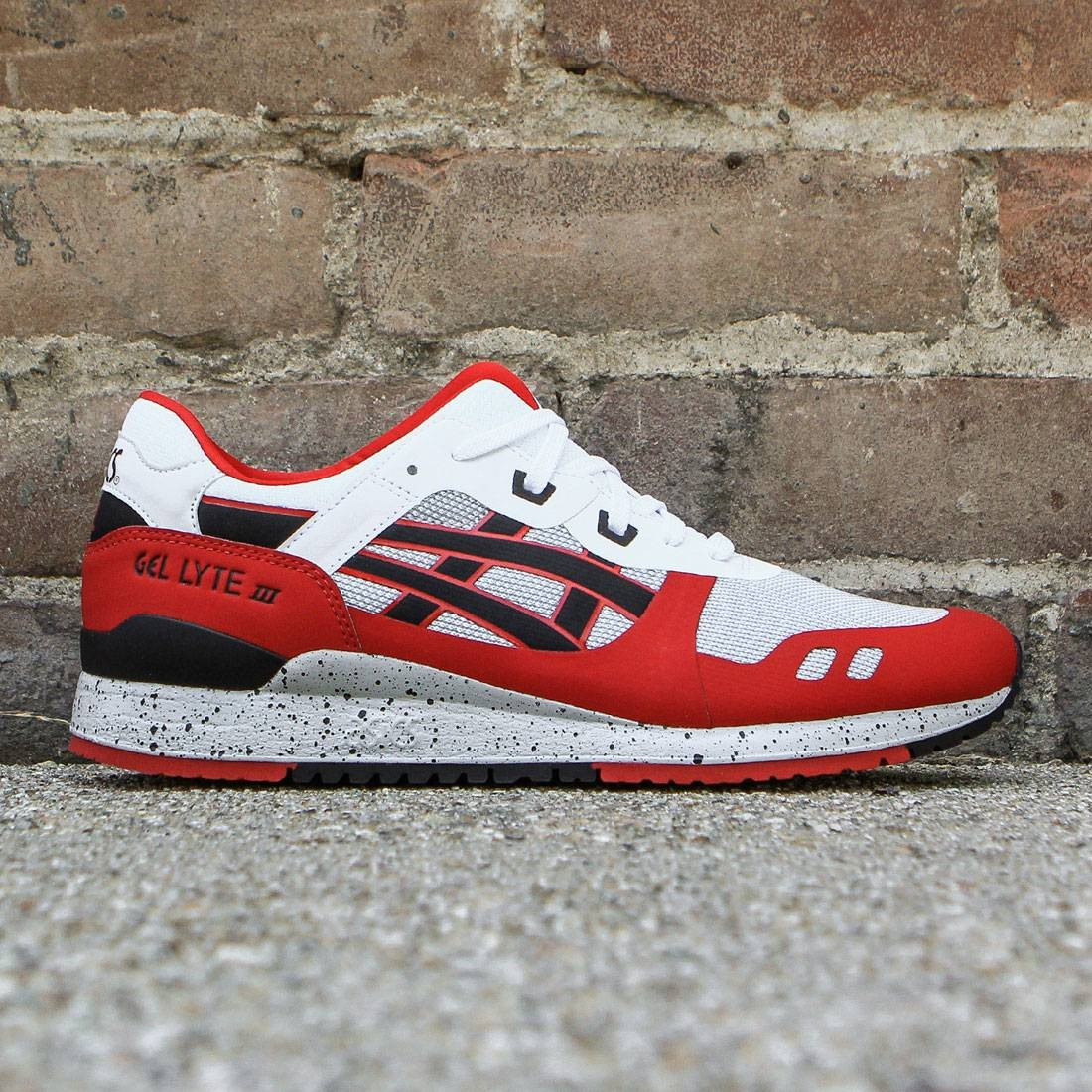 Asics Tiger Men Gel-Lyte III NS white black a78907b06d