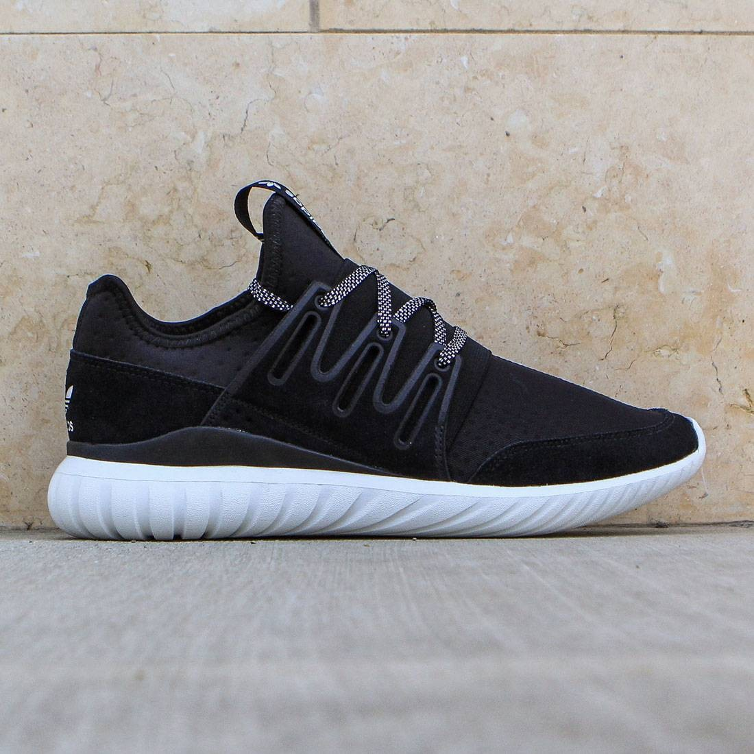 best sneakers 50c4d 04cf4 Adidas Men Tubular Radial (black / core black / vintage white)