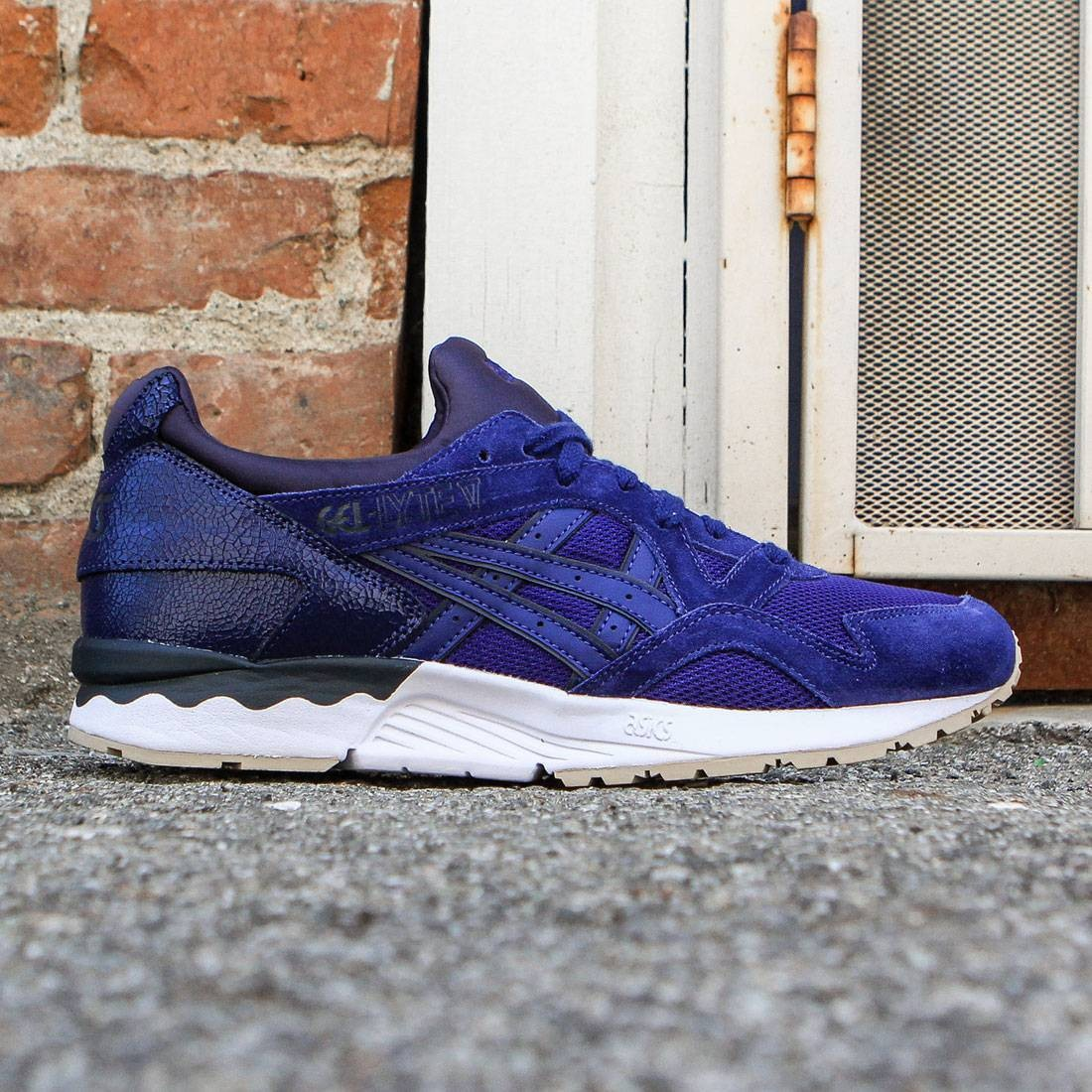 best website faae4 2757d Asics Tiger Men Gel-Lyte V (blue print / blue print)