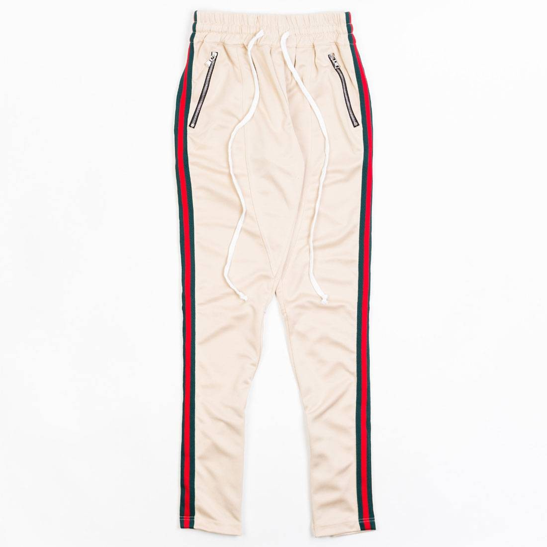 Lifted Anchors Men Jenner Track Pants - BAIT Exclusive (khaki / multi)