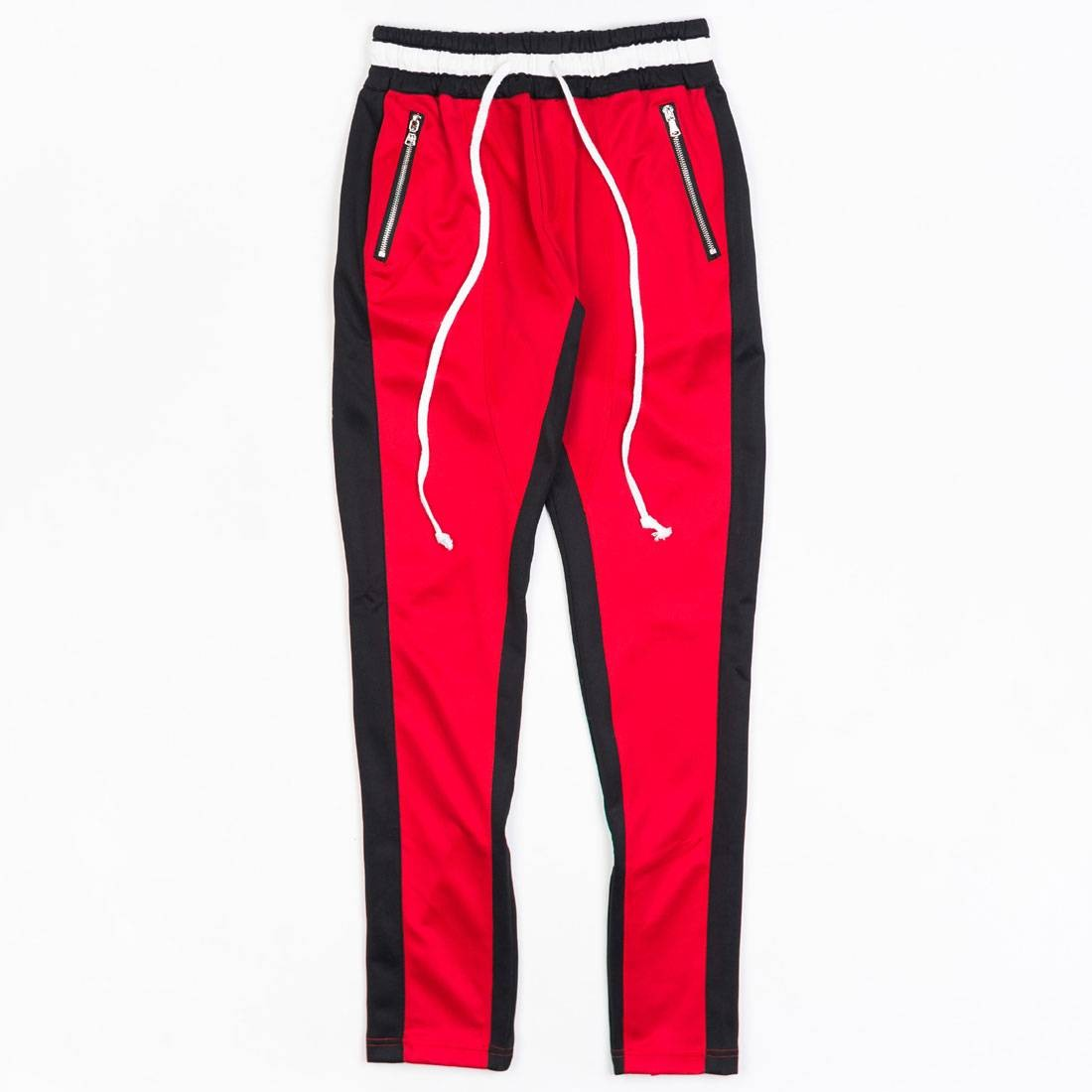Lifted Anchors Men Jenner Track Pants - BAIT Exclusive (red / black)