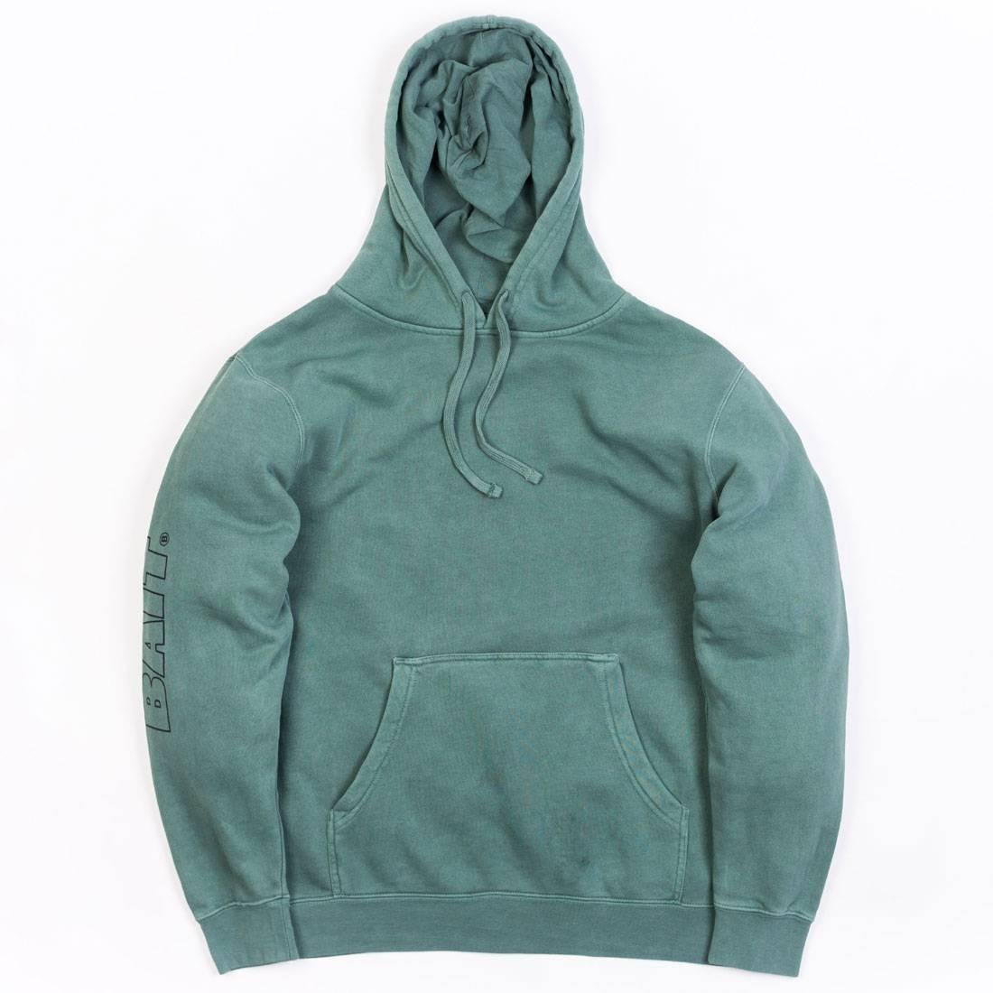 BAIT Men Pigment Dyed Hoody (green / alpine)