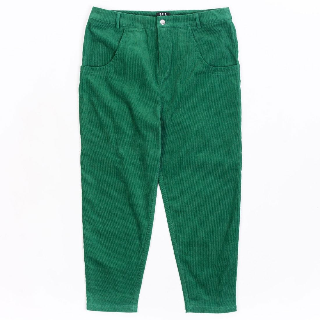 BAIT Unisex Corduroy Tailored Pants (green / kelly)
