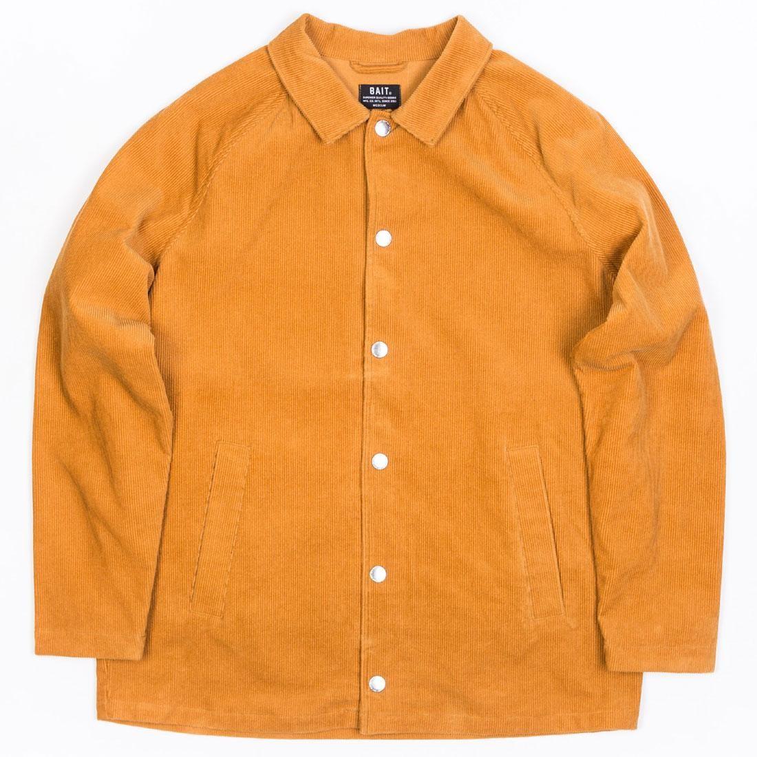 BAIT Unisex Corduroy Coaches Jacket (brown / camel)