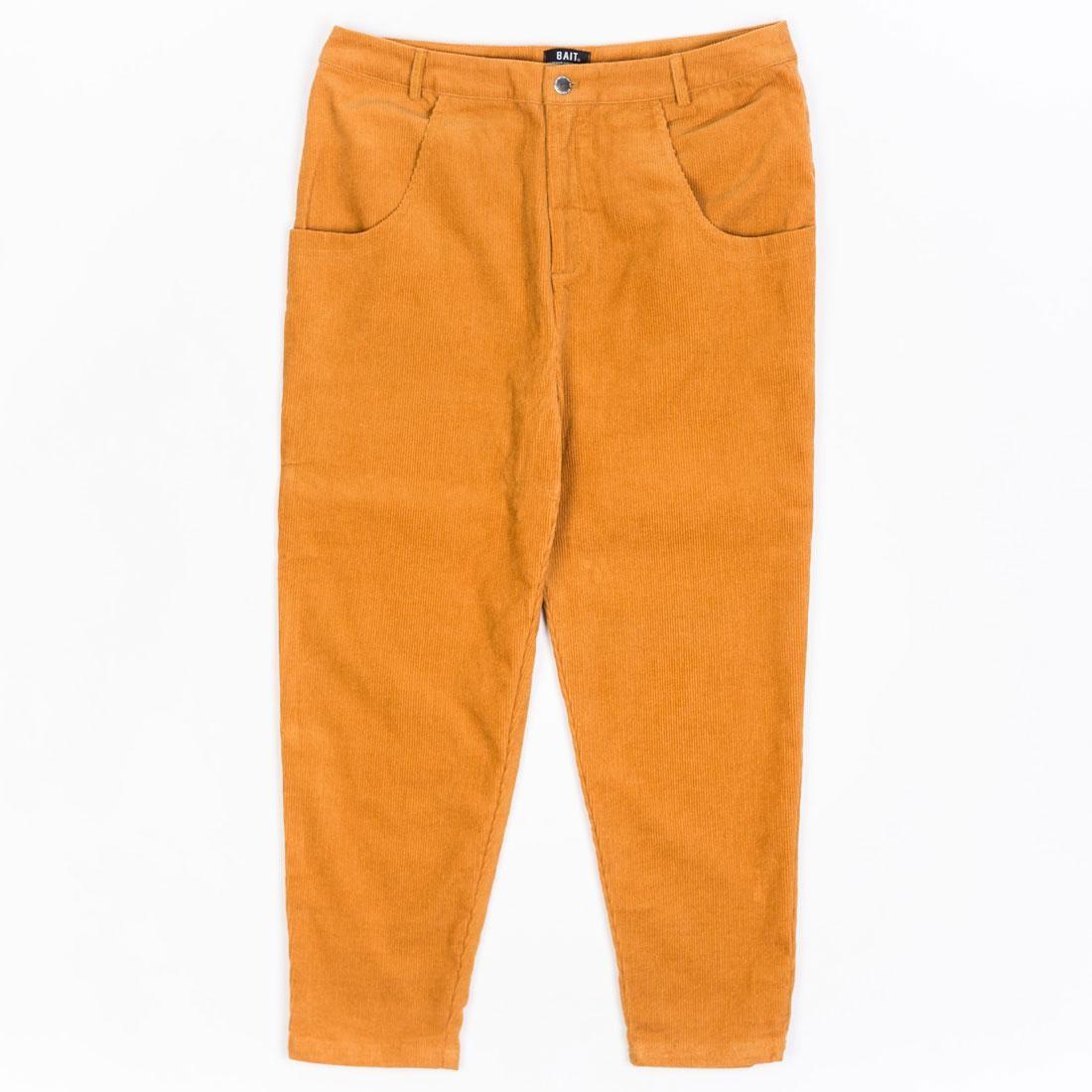 BAIT Unisex Corduroy Tailored Pants (brown / camel)
