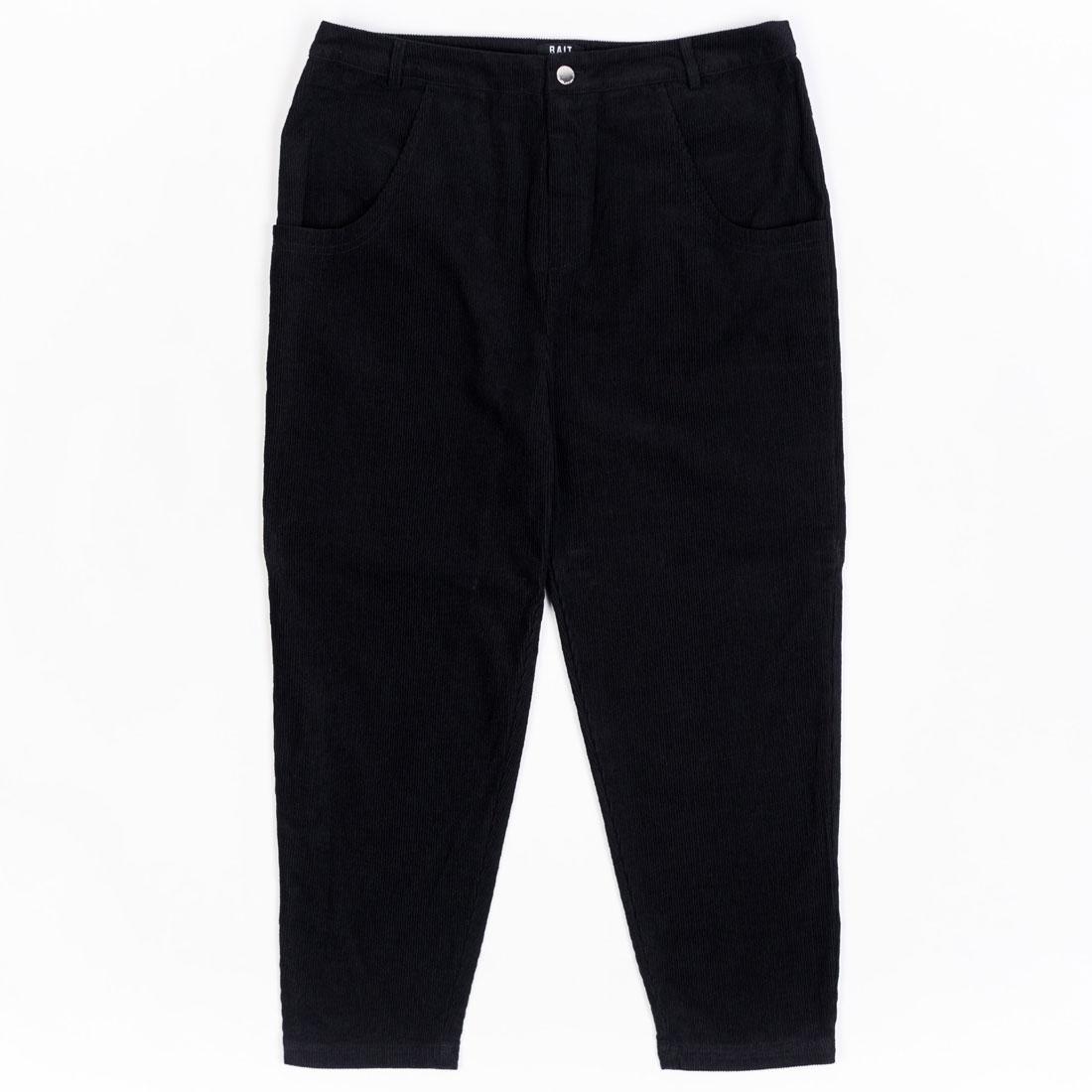 BAIT Unisex Corduroy Tailored Pants (black)