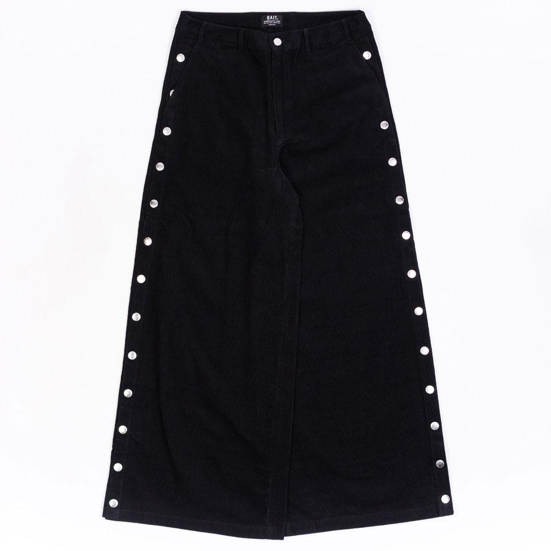BAIT Women Corduroy Tearaway Pants (black)