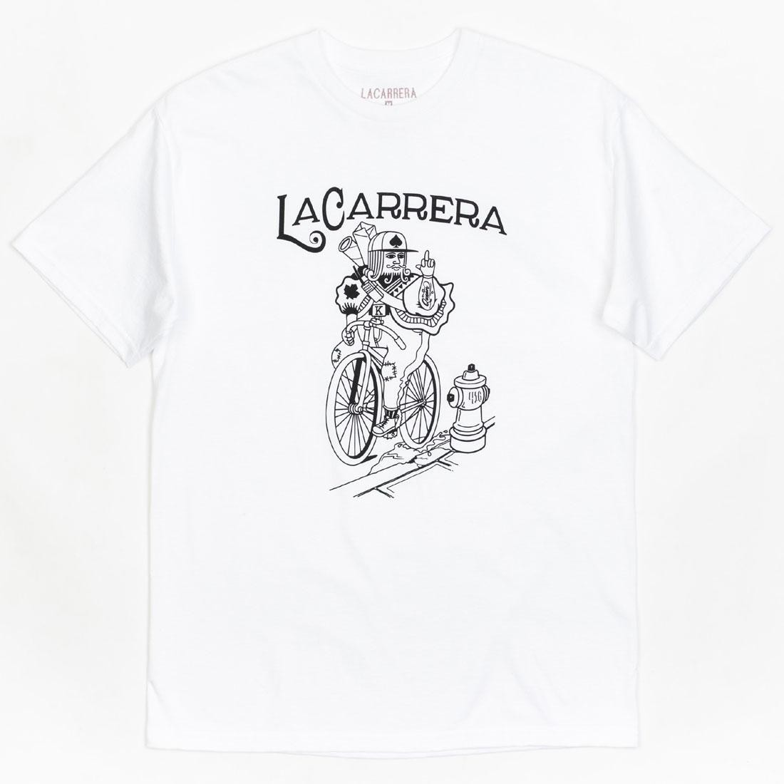 La Carrera Men King Rides Again Tee (white)