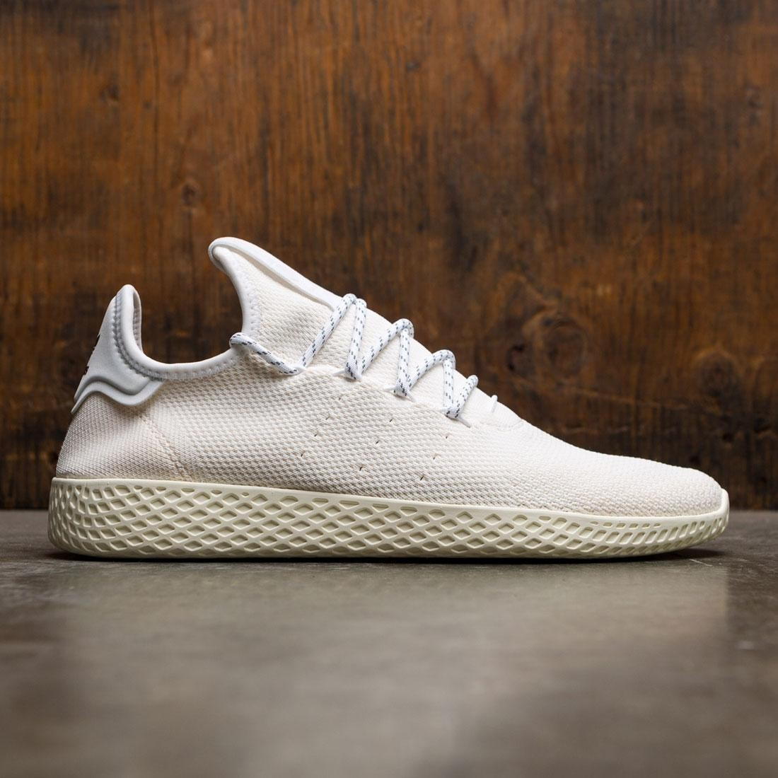 7762bd294 Adidas x Pharrell Williams Men Hu Holi Tennis Hu BC white cream white  footwear white