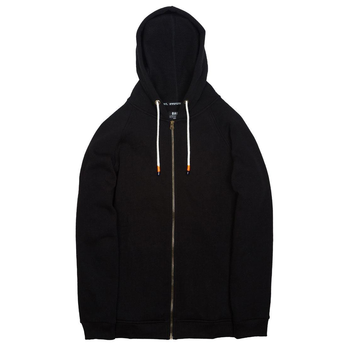 BAIT Men Zip Up Hoody (black)