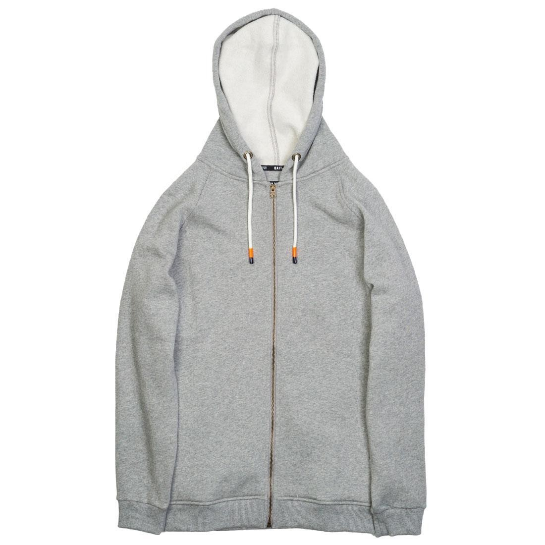 BAIT Men Zip Up Hoody (gray)