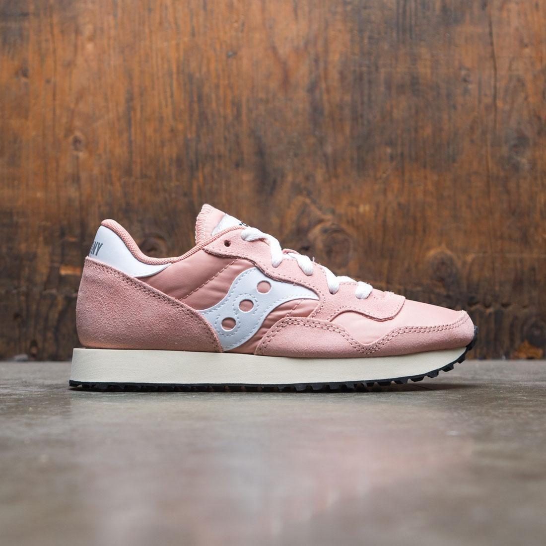 Saucony Women DXN Trainer Vintage (pink / peach / white)