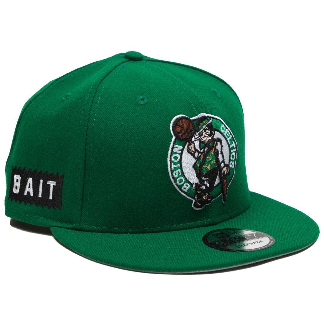 BAIT x NBA X New Era 9Fifty Boston Celtics OTC Snapback Cap (green)