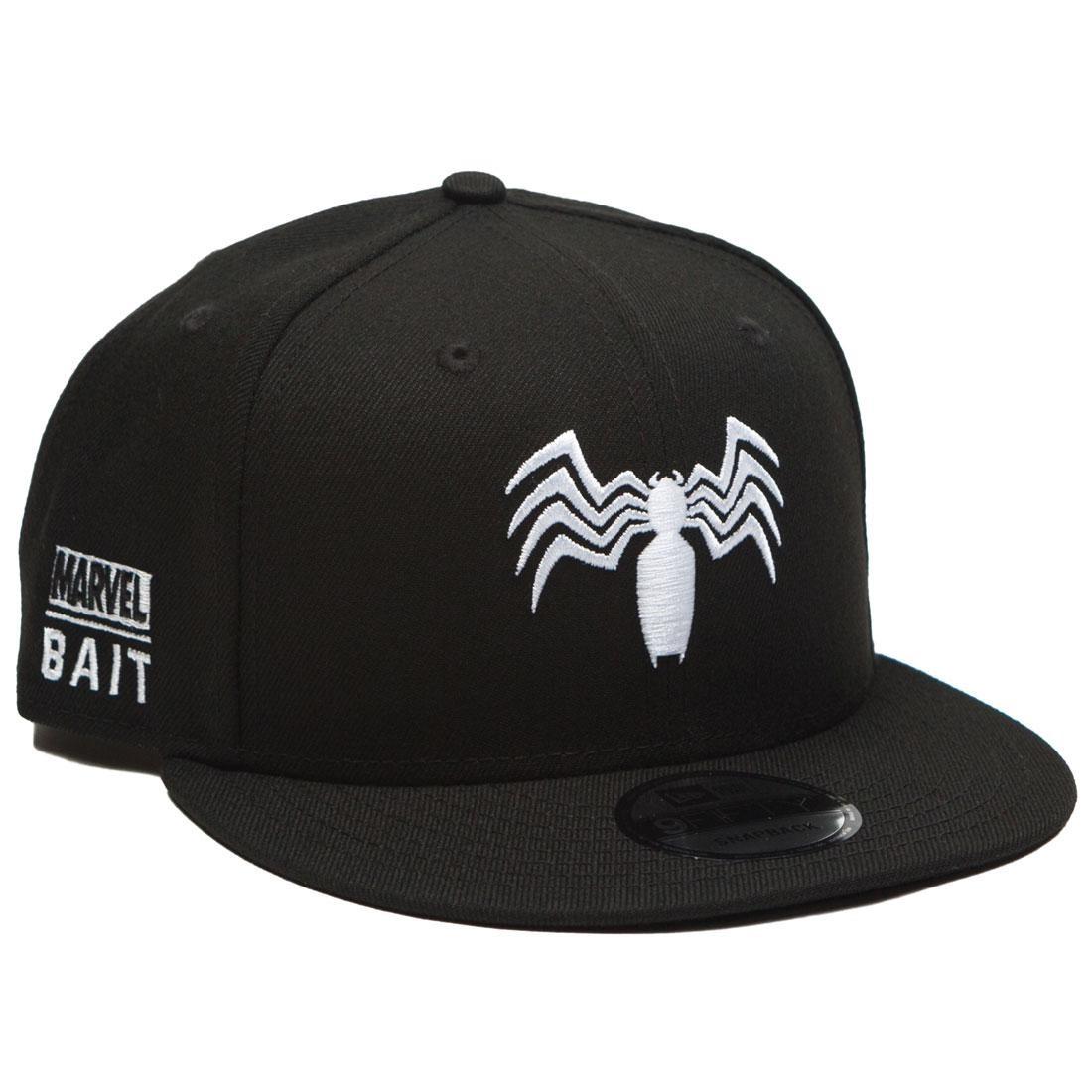 BAIT x Marvel x New Era 9Fifty Venom Logo Black Snapback Cap black aeaa826f606