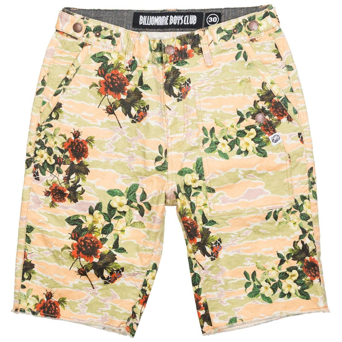 Billionaire Boys Club Men Greens Shorts (white / eggnog)