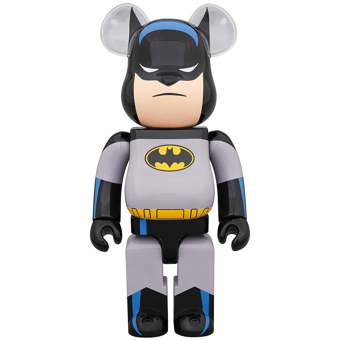 PREORDER - Medicom Batman Animated 1000% Bearbrick Figure (gray)