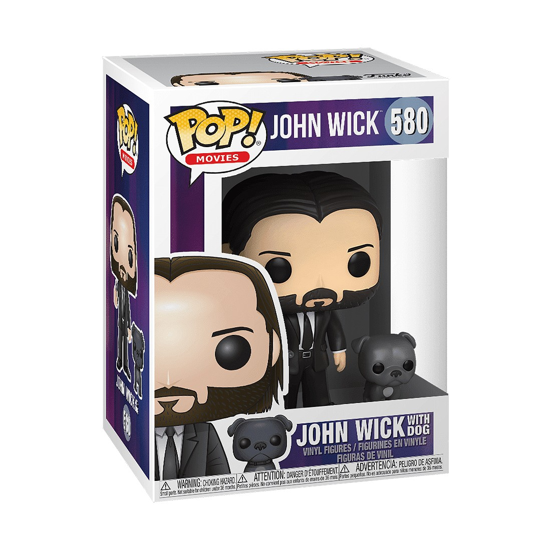 PREORDER - Funko POP Buddy John Wick Black Suit With Dog (black)