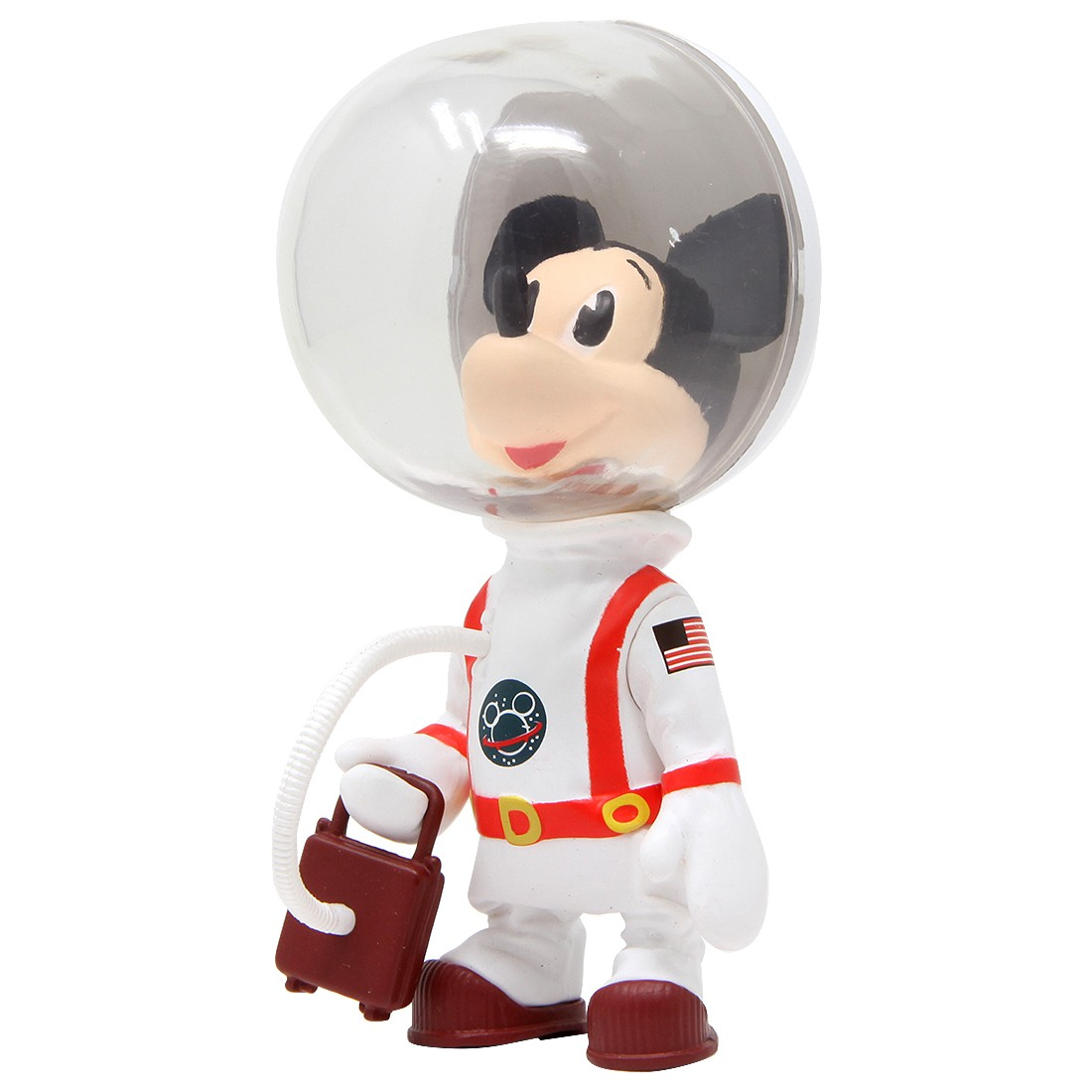 Medicom UDF Disney Series 8 Astronaut Mickey Mouse Vintage Toy Ver Ultra Detail Figure (white)