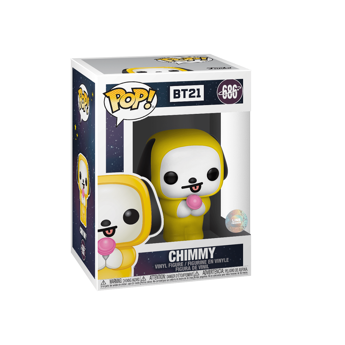 PREORDER - Funko POP Animations BT21 Chimmy (yellow)