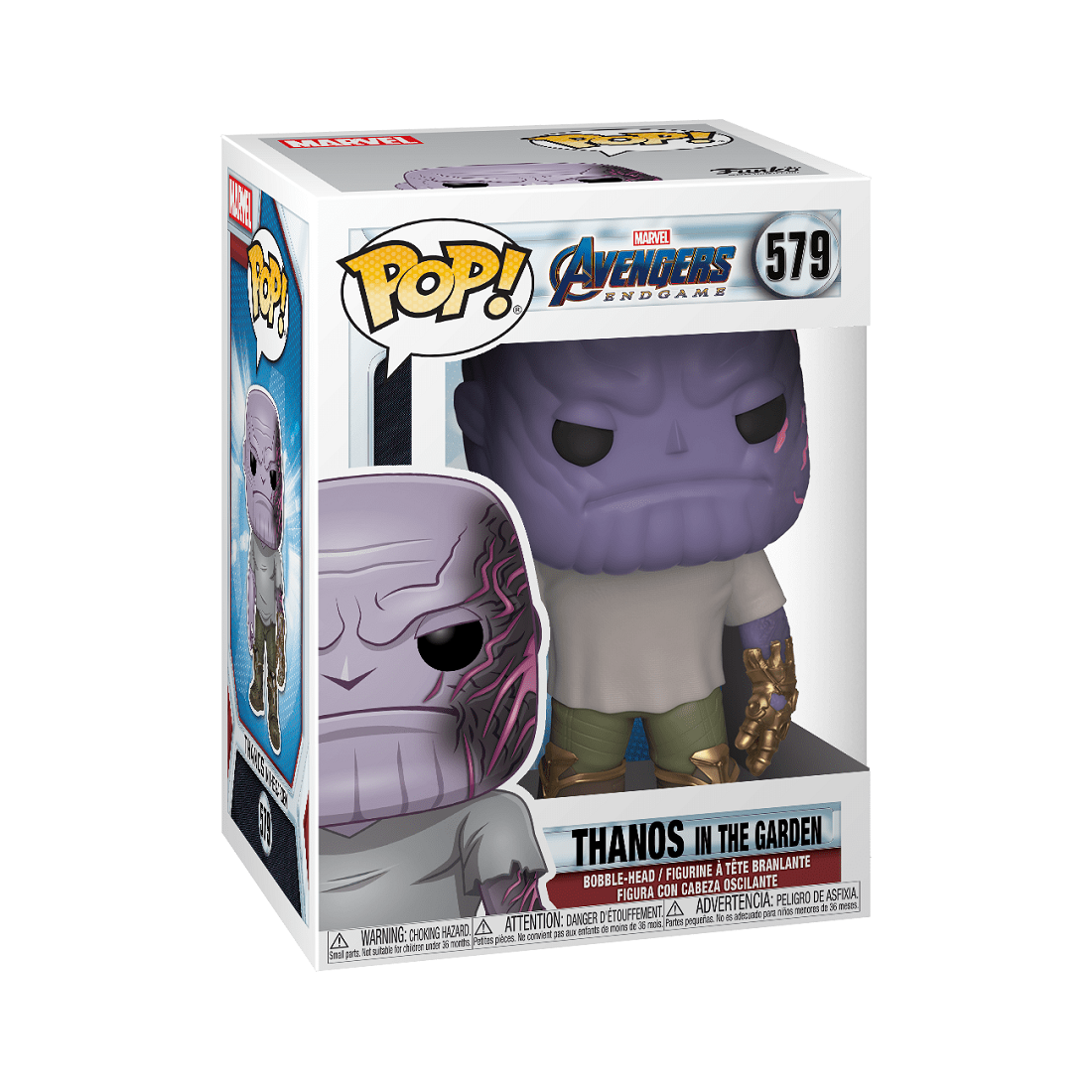 PREORDER - Funko POP Marvel Endgame Casual Thanos With Gauntlet (purple)