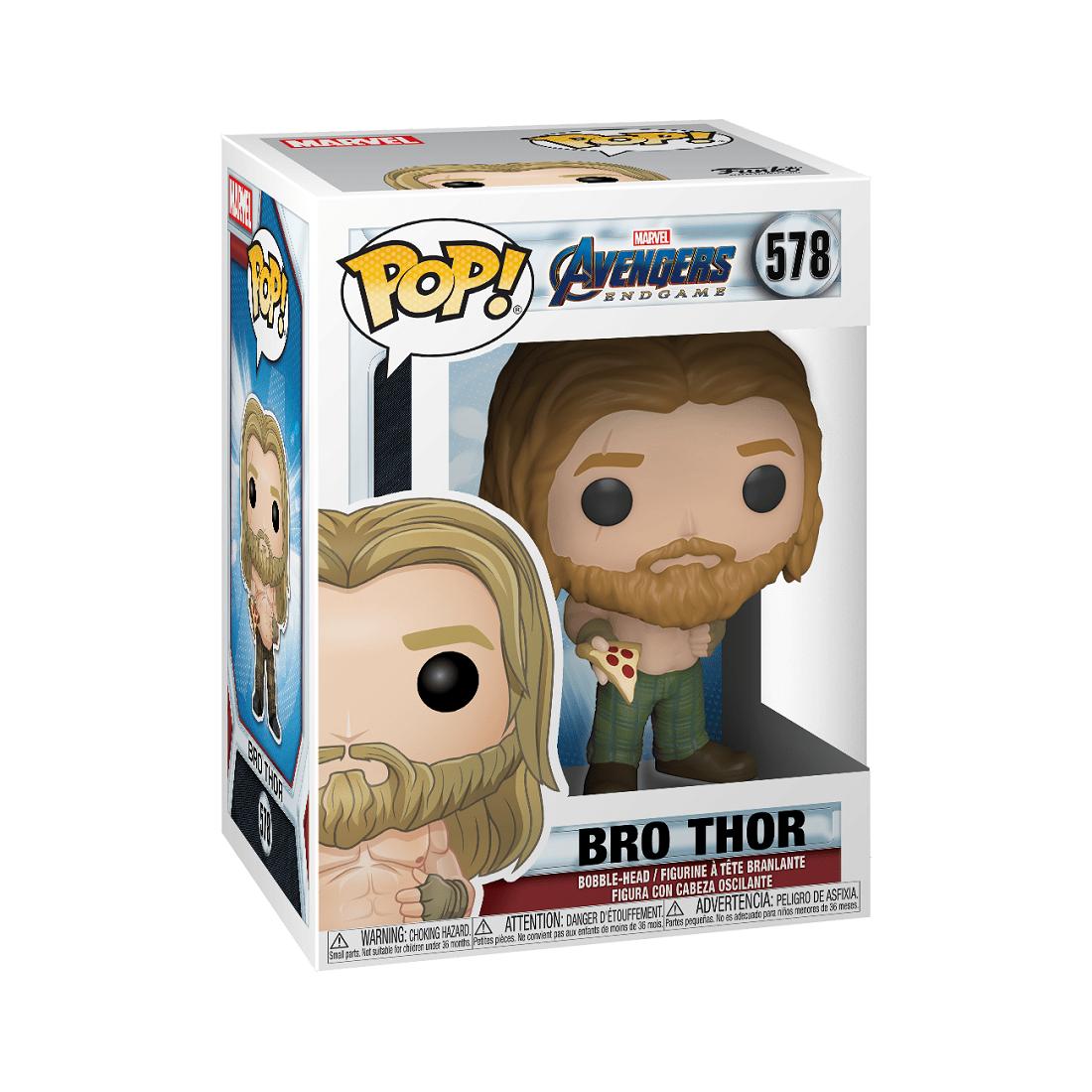 PREORDER - Funko POP Marvel Endgame Thor With Pizza (tan)