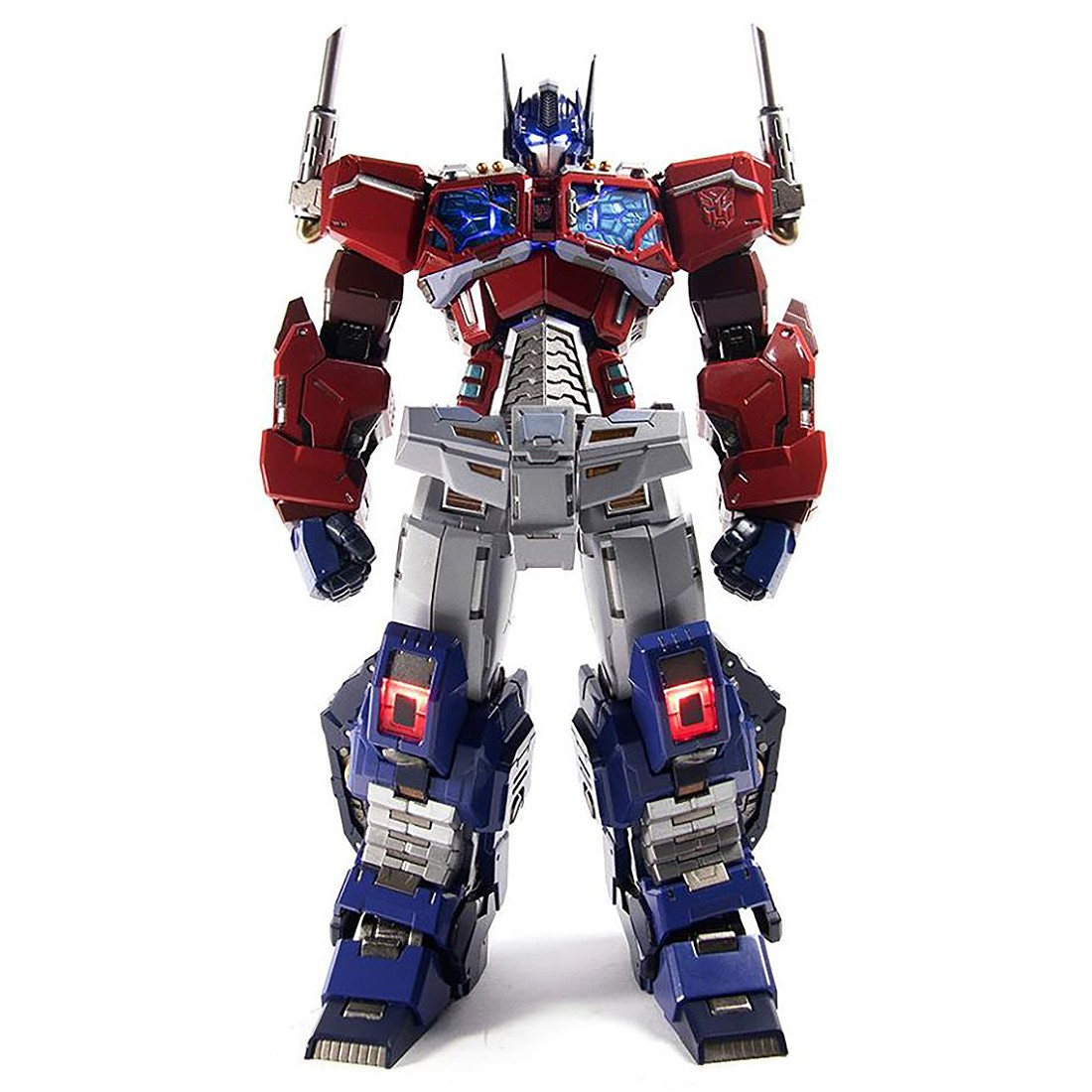 Flame Toys Kuro Kara Kuri Transformers #04 Optimus Prime Figure (red)