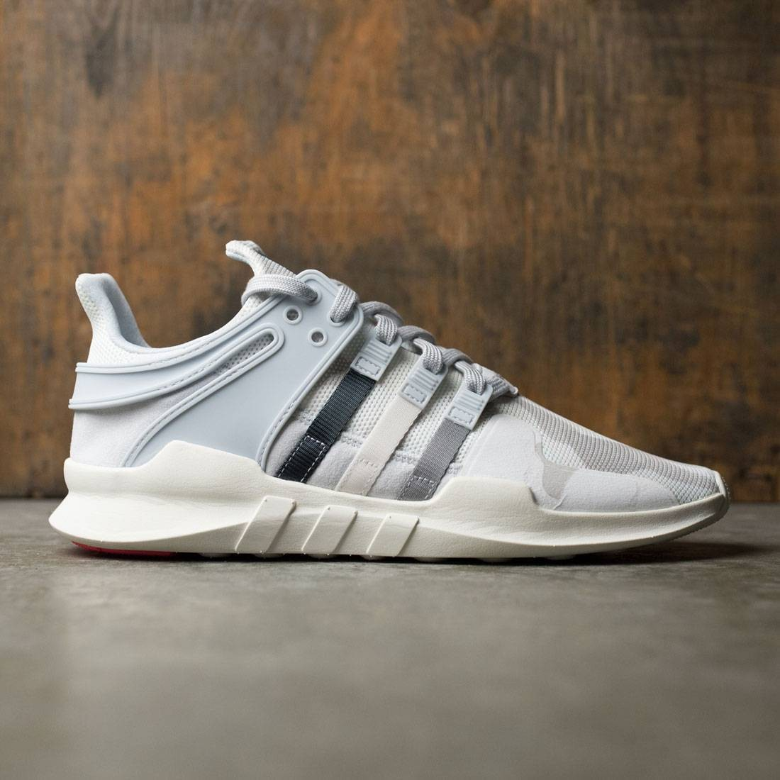 Adidas Men EQT Support ADV white mid grey vintage white 7d2b07675022