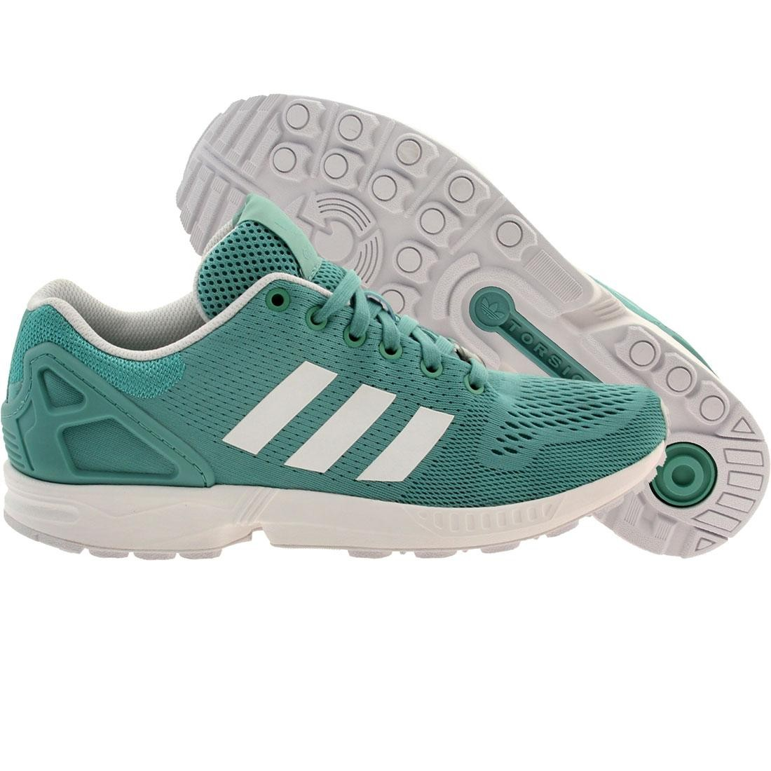 pretty nice 75770 18006 Adidas Men ZX Flux (blue / ocean / white)