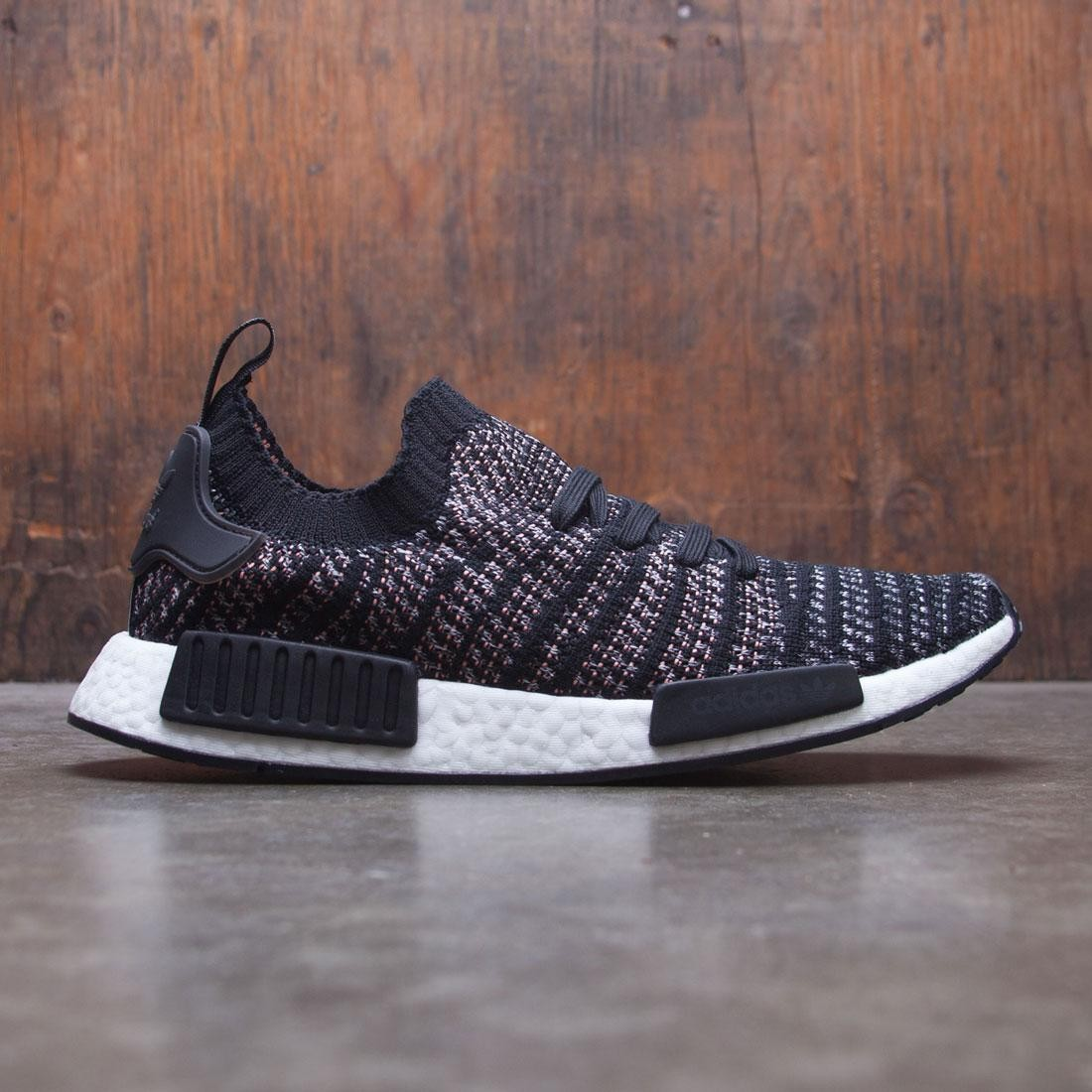 58e27f0b3eb113 Adidas Men NMD R1 STLT PK black grey two grey five