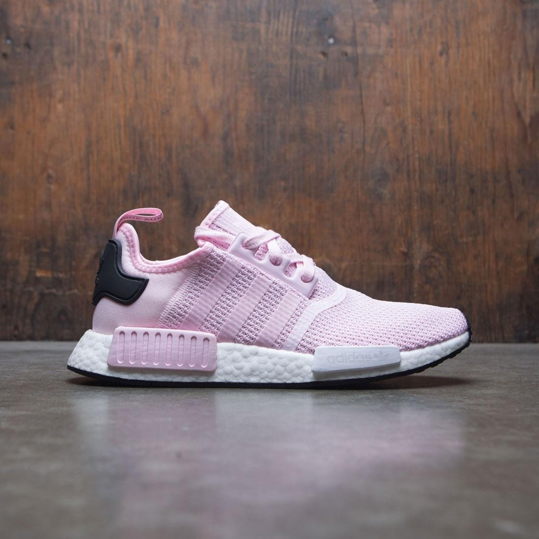 new arrival cf00c ba499 Adidas Women NMD R1 W (pink / clear pink / footwear white / core black)