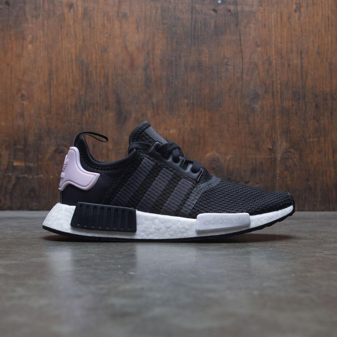 Adidas Women NMD R1 W black footwear white clear pink 38244ef16d