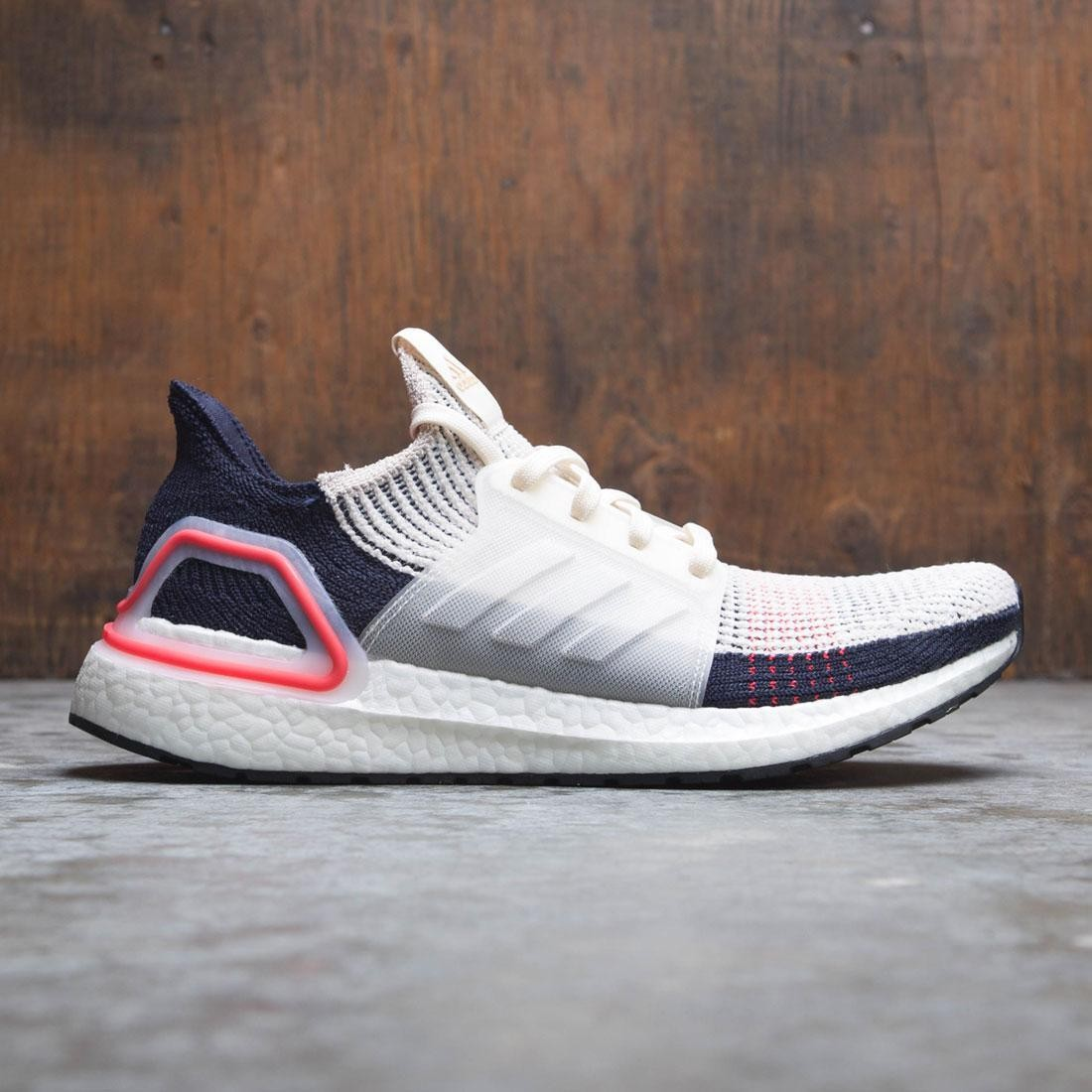 8bc09219b0189c Adidas Men UltraBOOST 19 beige clear brown chalk white footwear white