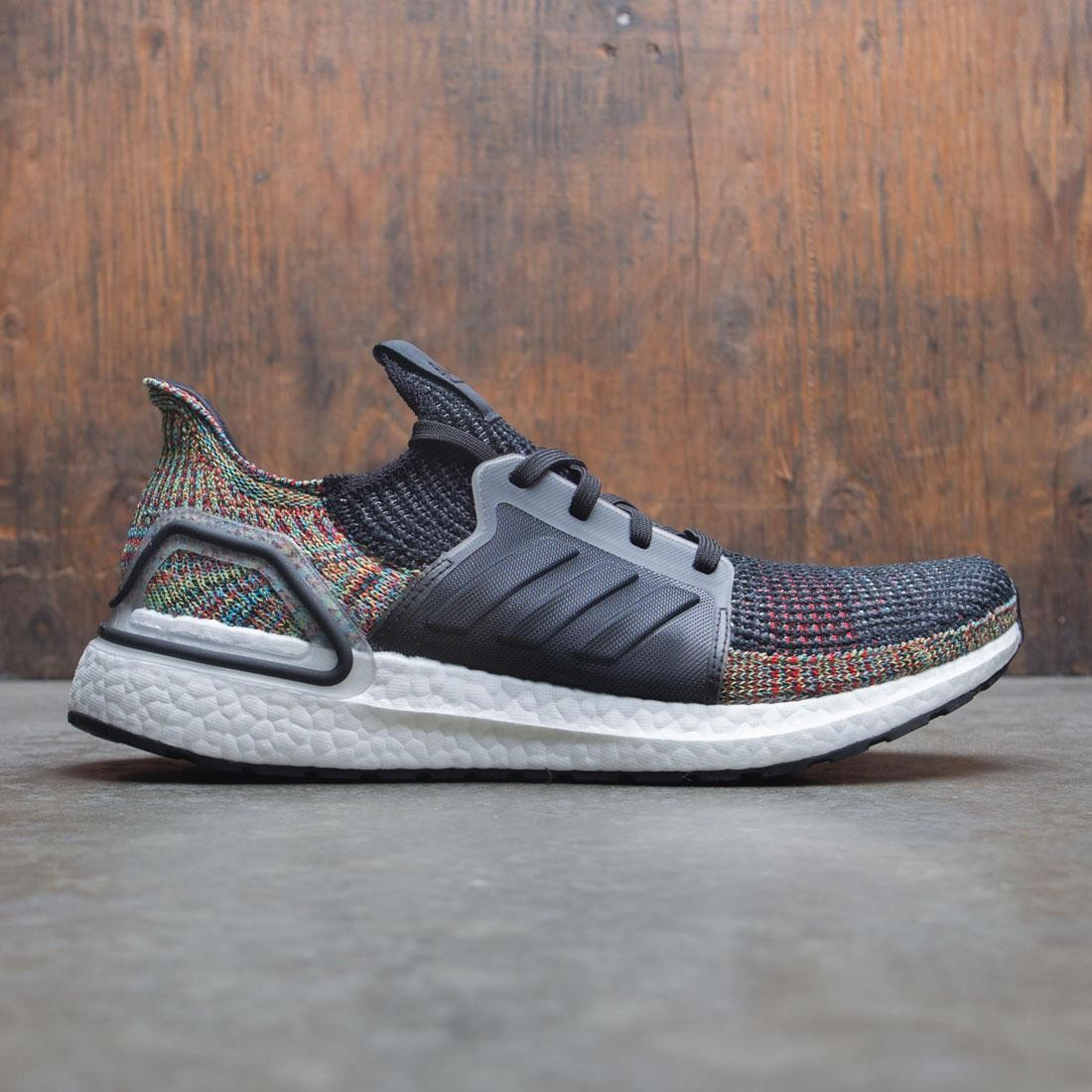 f9e35bb4c62 Adidas Men UltraBOOST 19 gray core black shock yellow