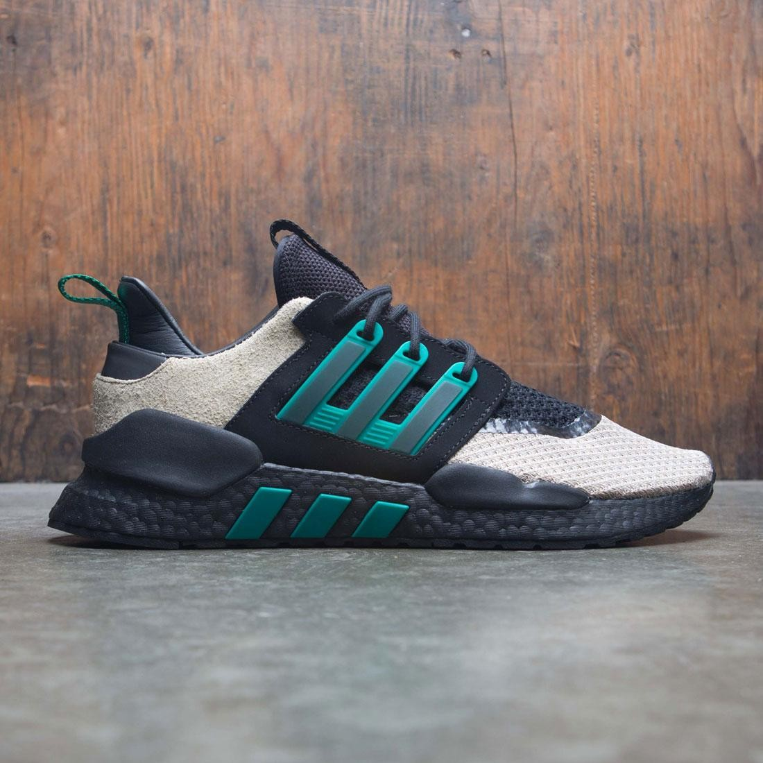 best sneakers 0a49e 54d66 Adidas Consortium x Packer Shoes Men EQT 91/18 (black / sub green / blanch  cargo)