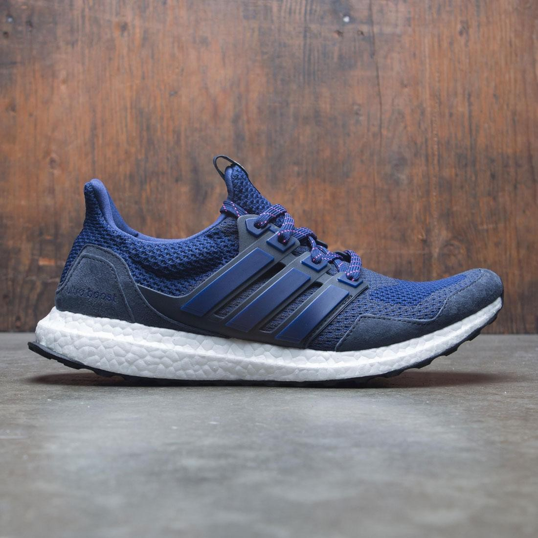Adidas Consortium x Kinfolk Men UltraBOOST (navy night navy night indigo dark blue)