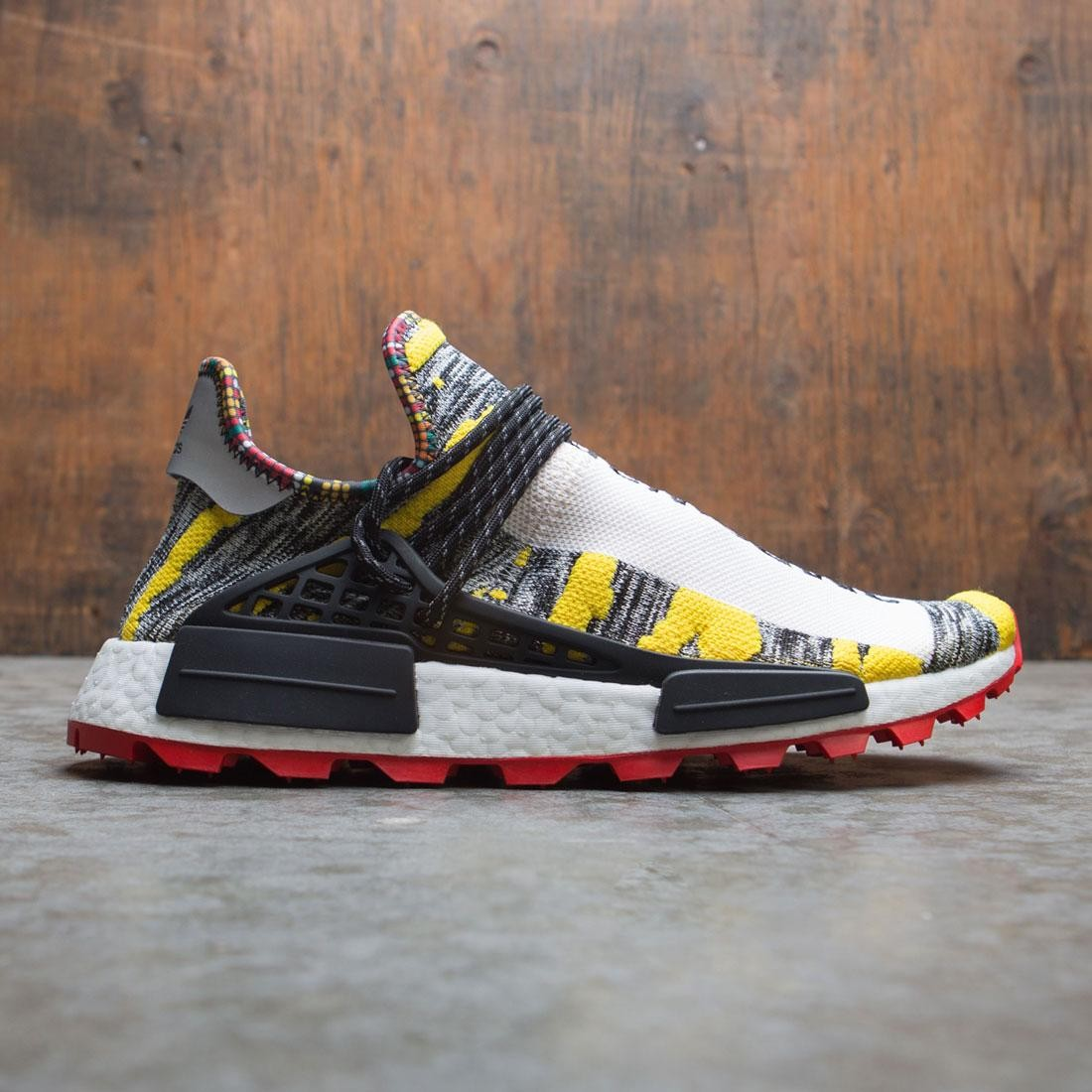Adidas Consortium x Pharrell Williams Men Solar HU NMD (yellow / core black / red)